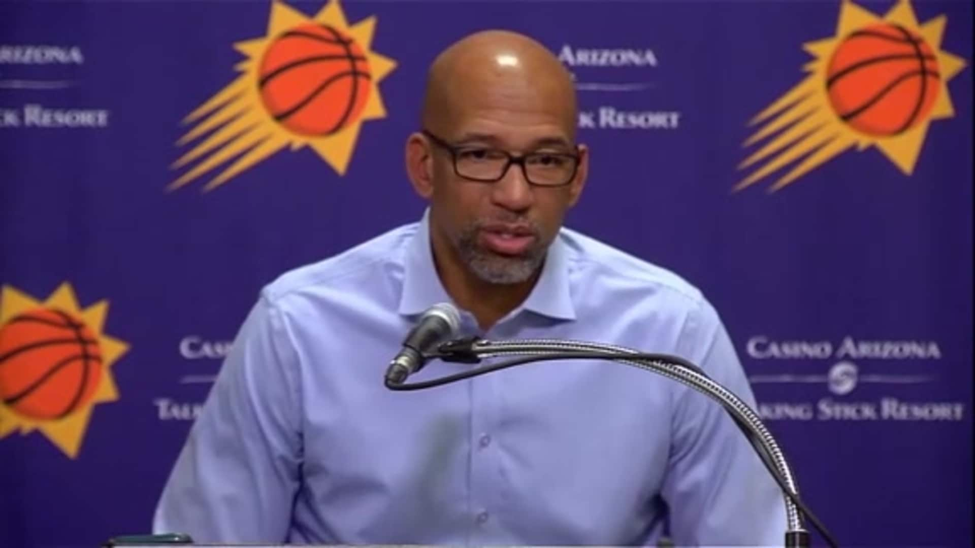Suns Postgame Sound 11.14.19 | Coach Williams