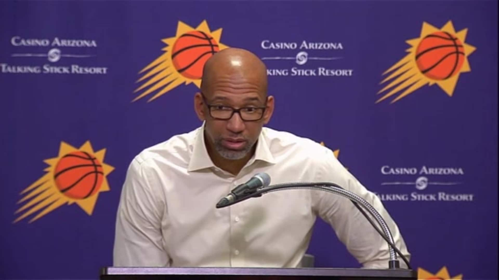 Suns Postgame Sound 11.18.19 | Coach Williams