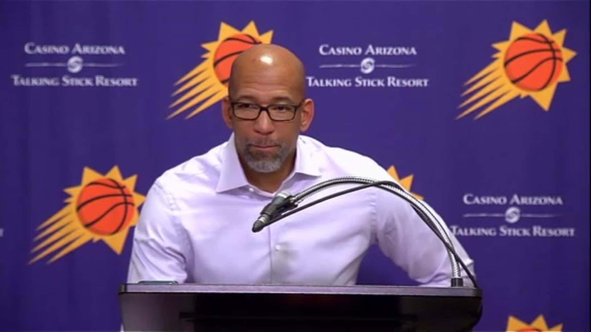 Suns Postgame Sound 11.27.19 | Coach Williams