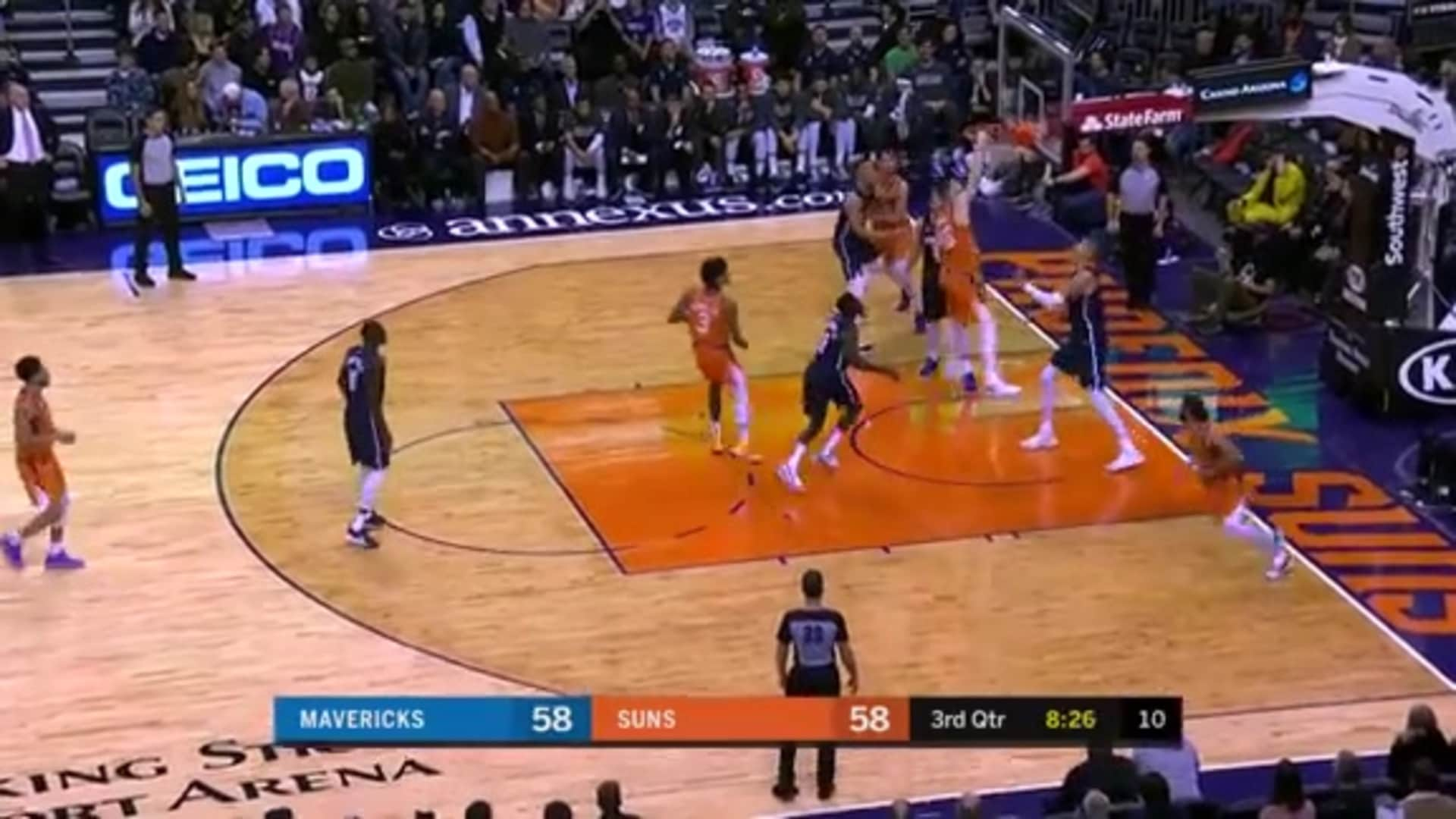Baynes Brings the Pain in the Paint