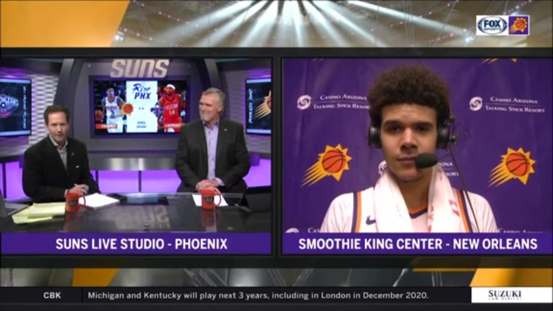 Suns Postgame Sound 12.5.19 | Cam Johnson