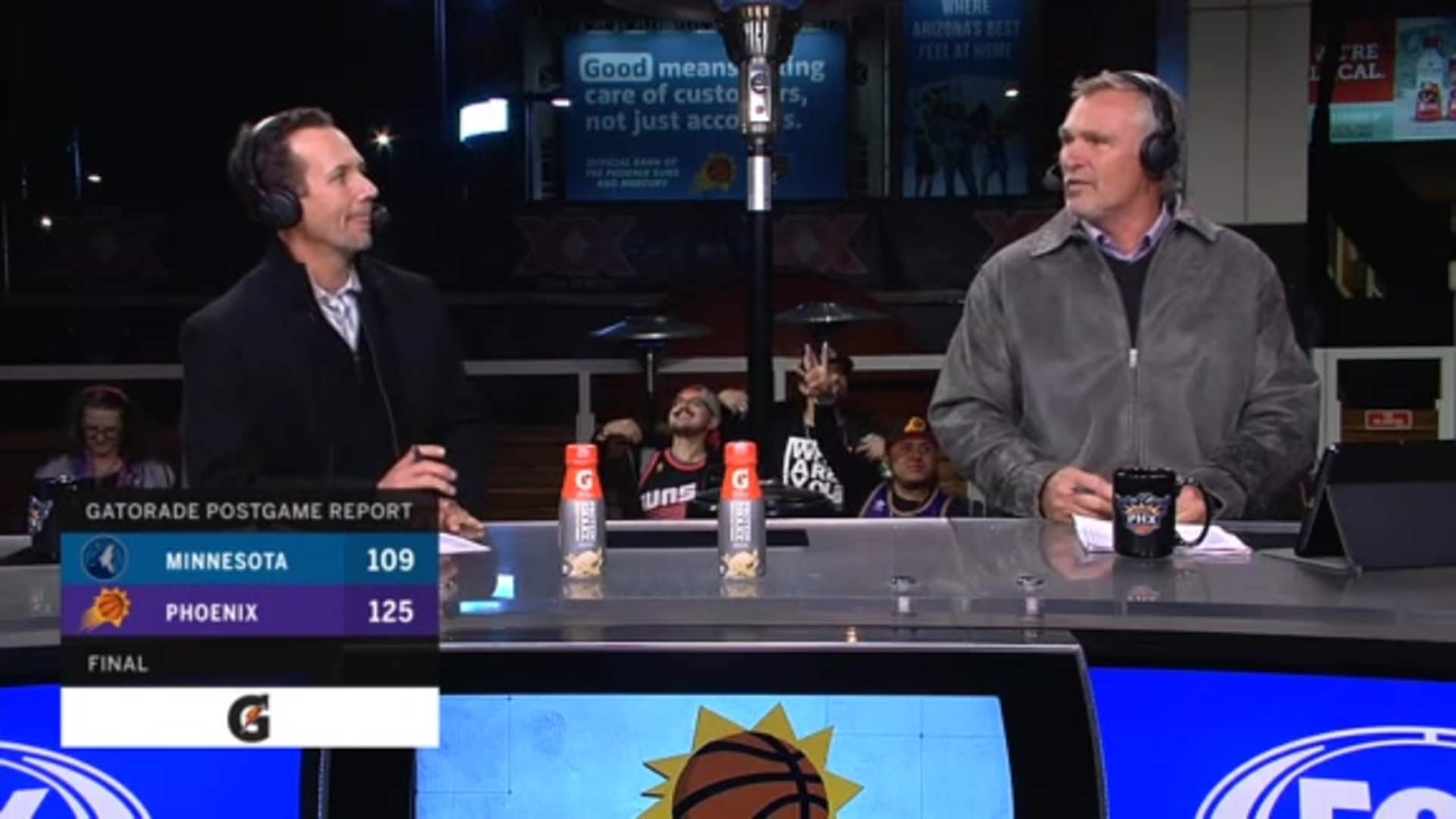 Gatorade Postgame Report: Suns vs. Timberwolves 2019-20