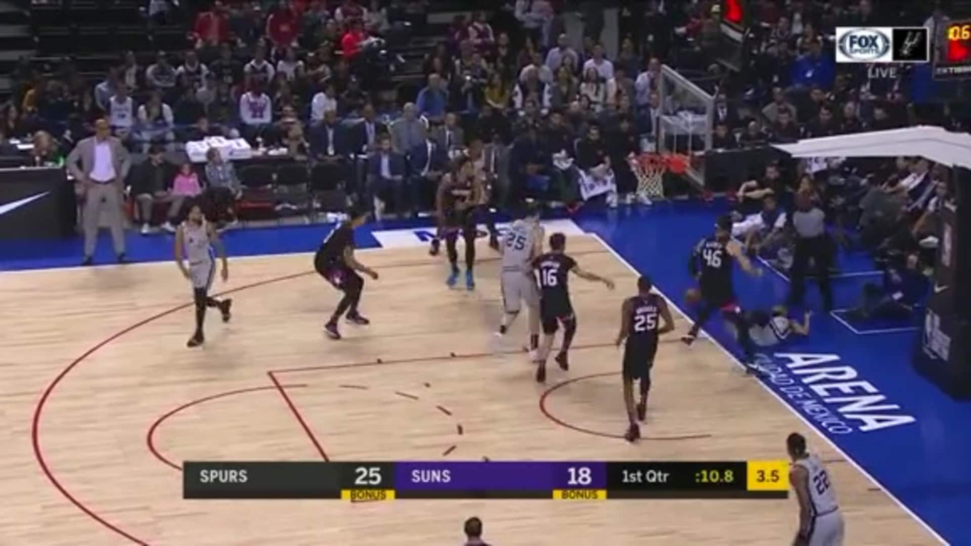 Baynes with the Block
