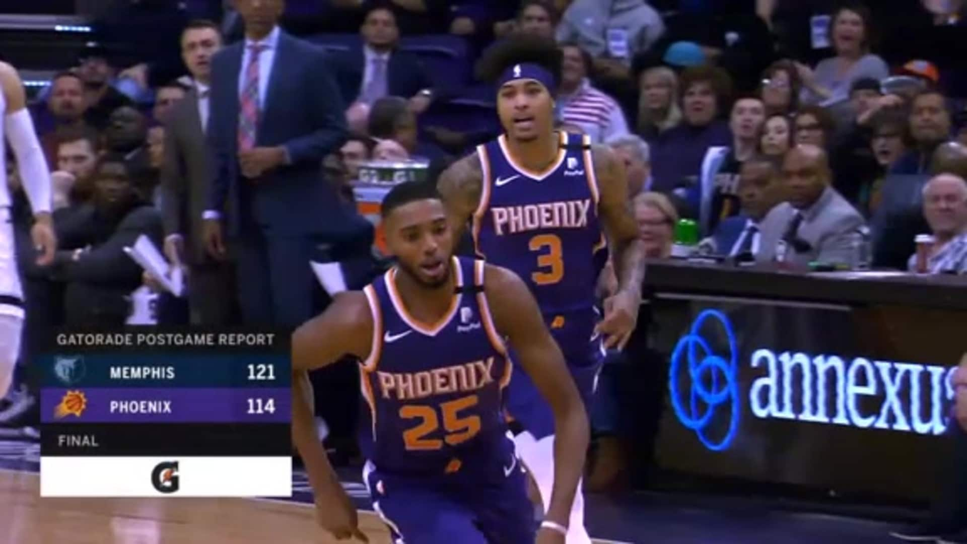 Gatorade Postgame Report: Suns vs. Grizzlies 2019-20