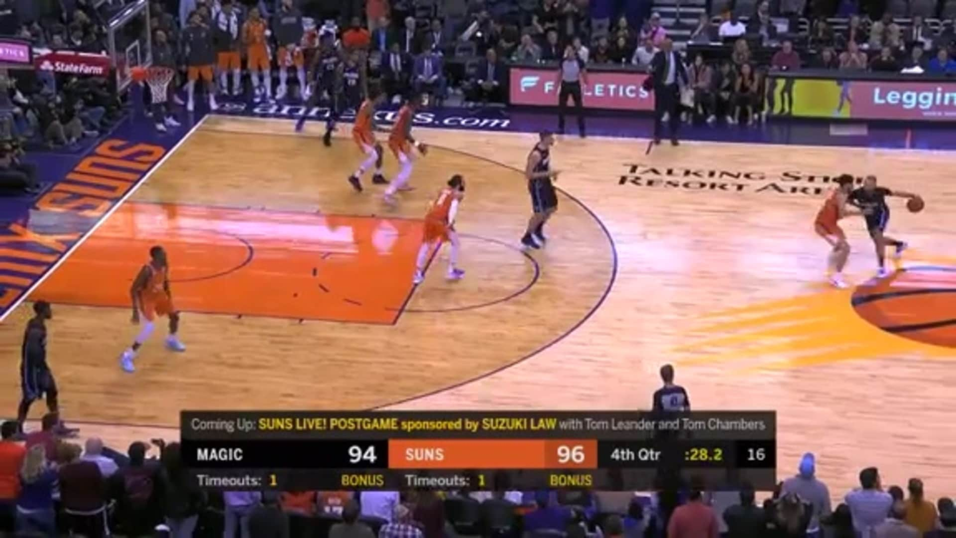 Booker's Game-Winning Defense vs Orlando Magic