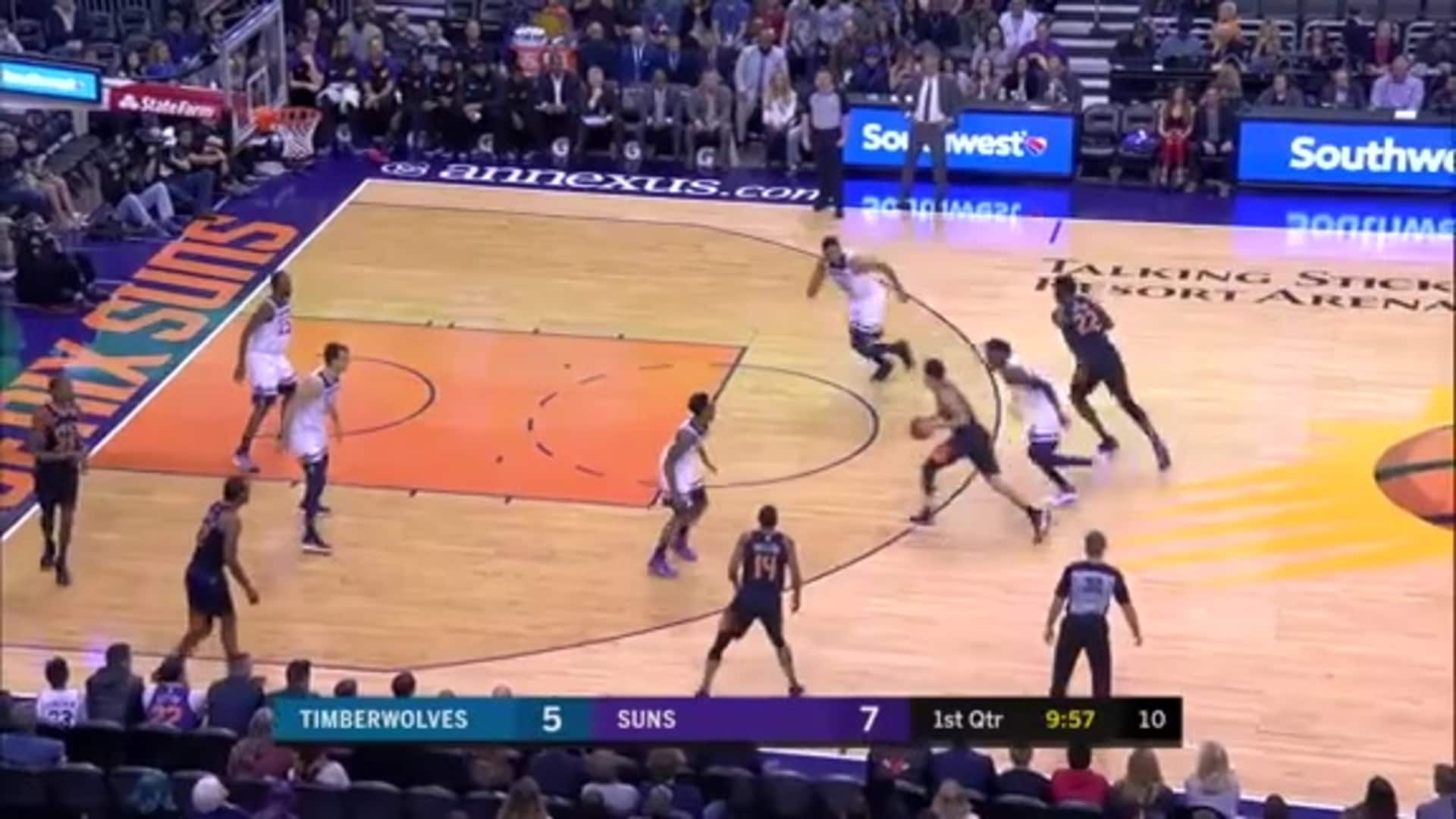 Devin Booker: 2018-19 Assists