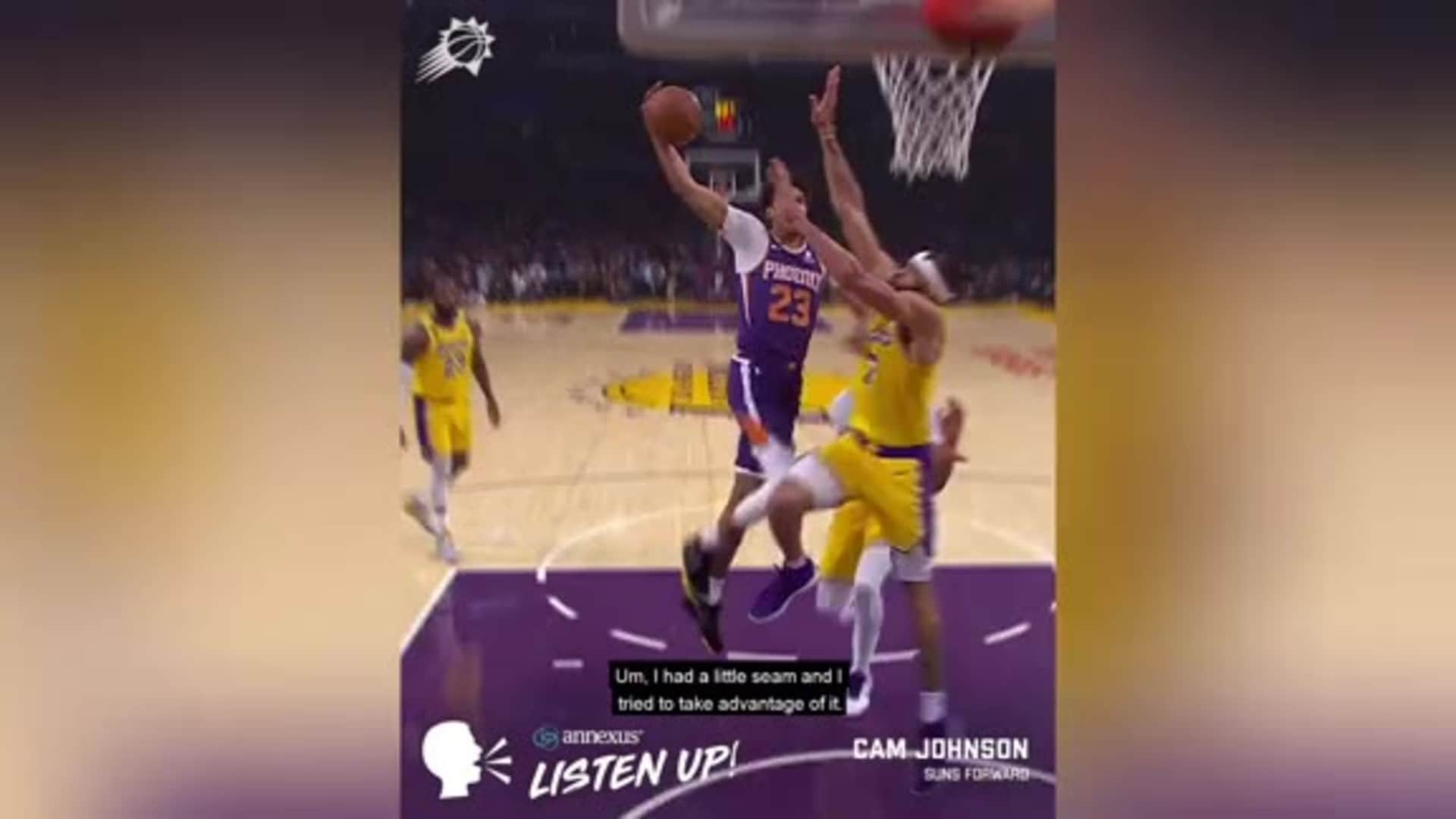 Annexus Listen Up: Johnson Dunk on McGee