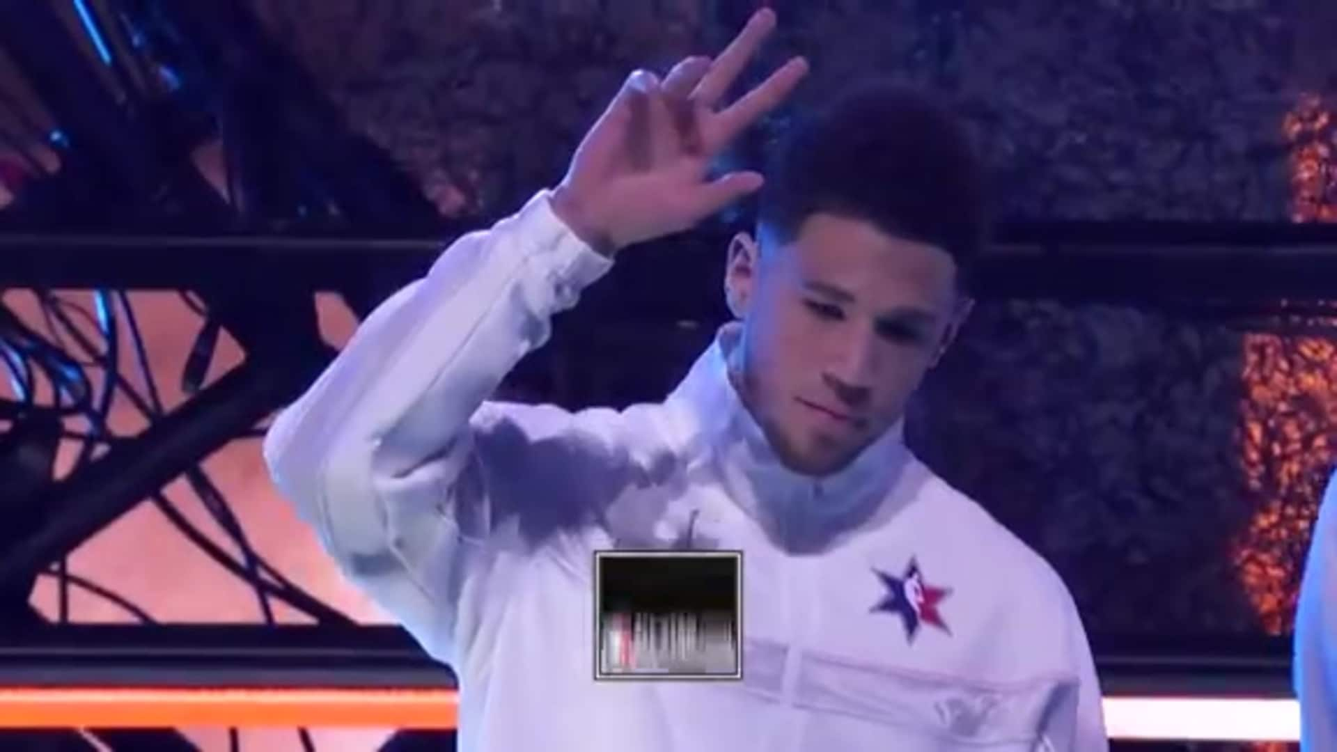 2020 NBA All-Star Game: Devin Booker Introduction