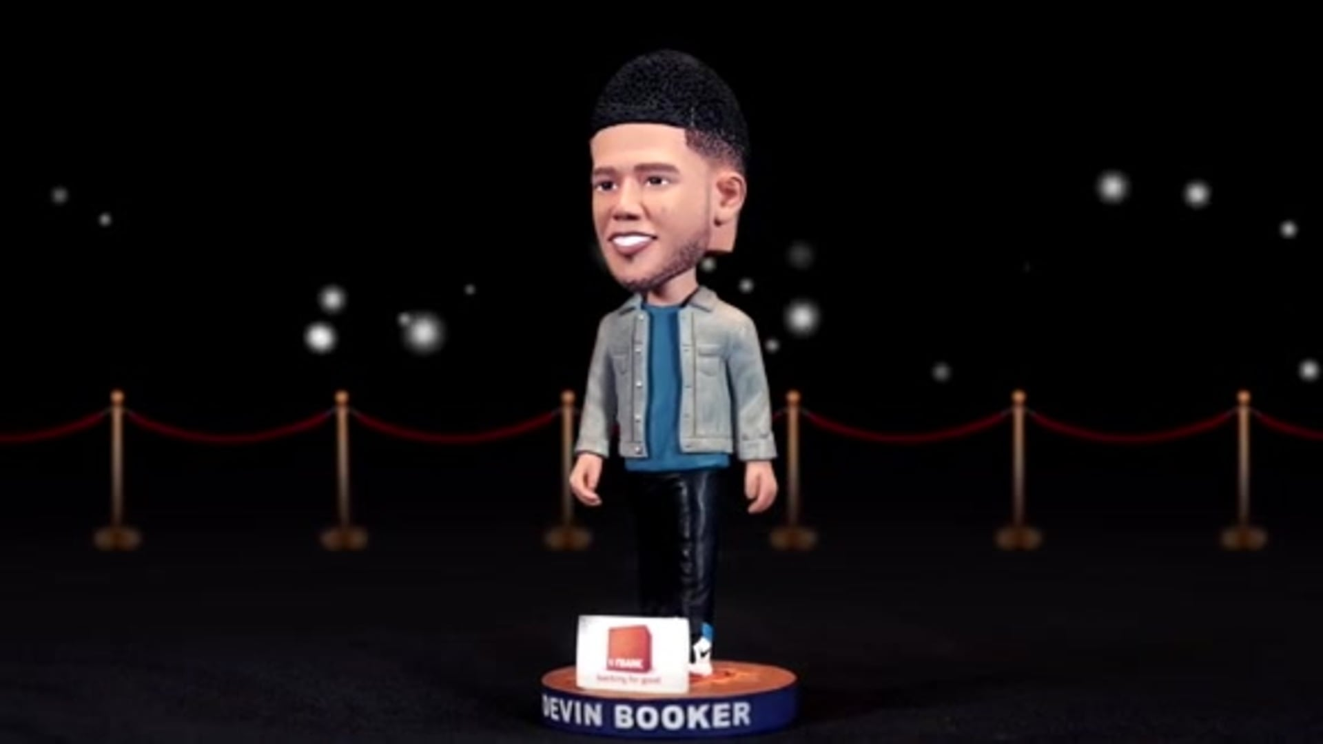 Devin Booker Bobblehead Courtesy of First Bank