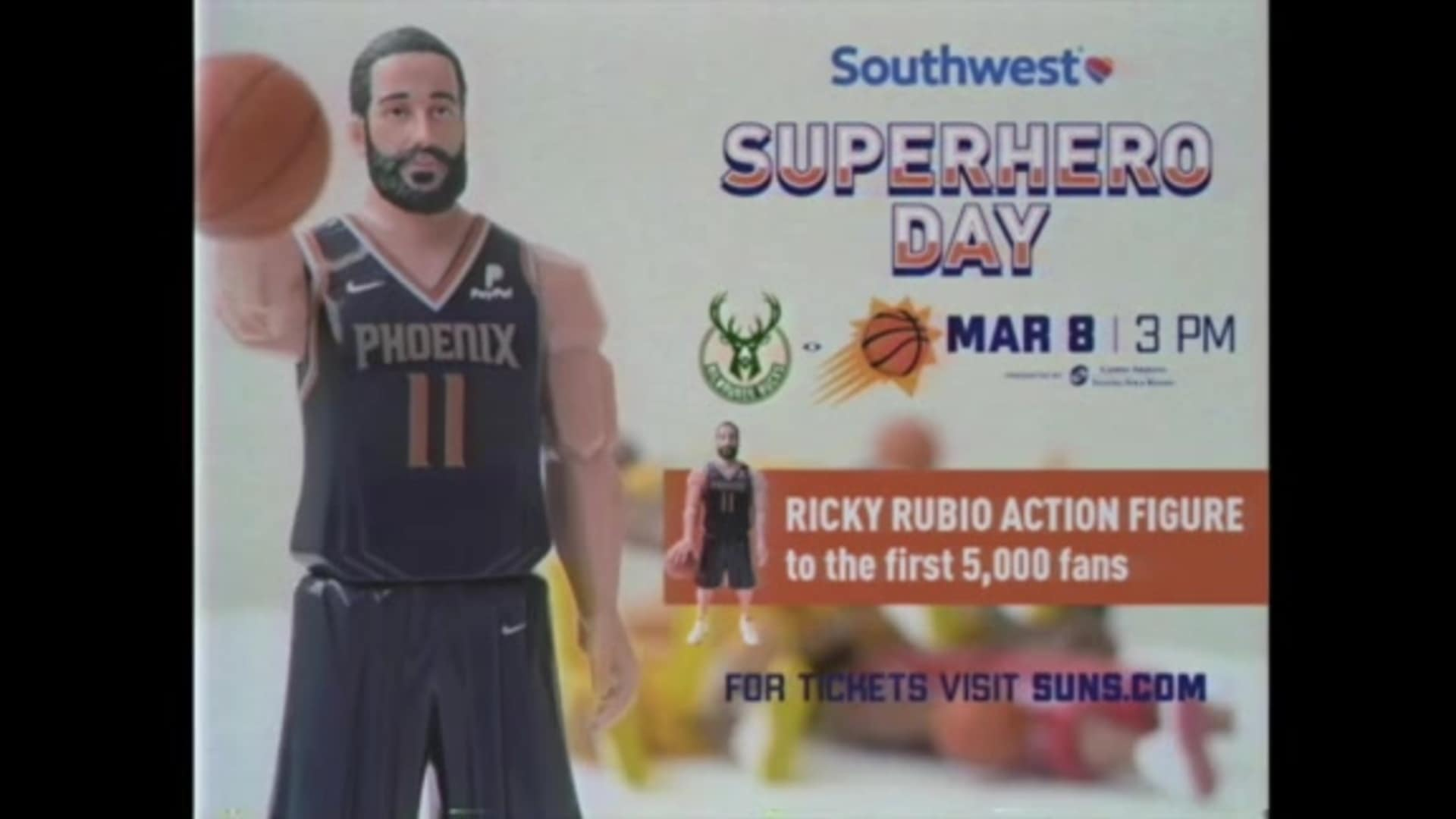Southwest Airlines Superhero Day: Rubio Action Figure