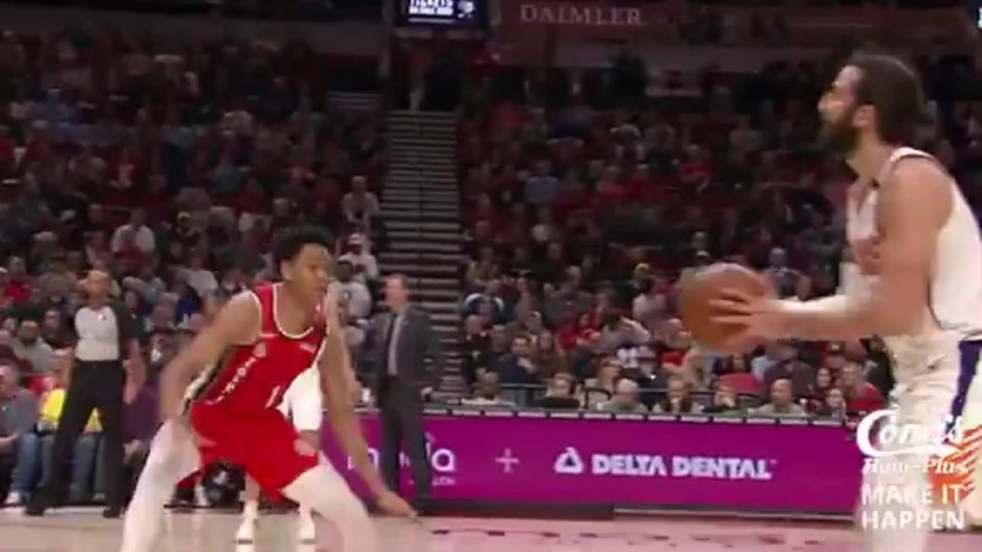 Conn's Make it Happen Play: Rubio from Deep