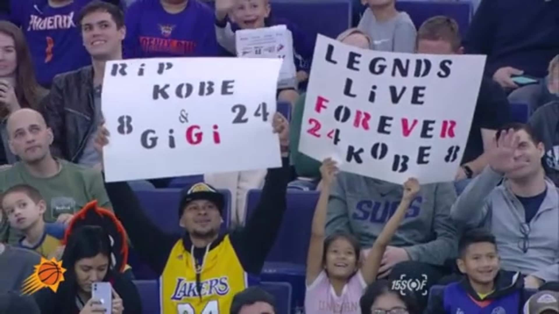 15SOF | Kobe and Gigi Signs