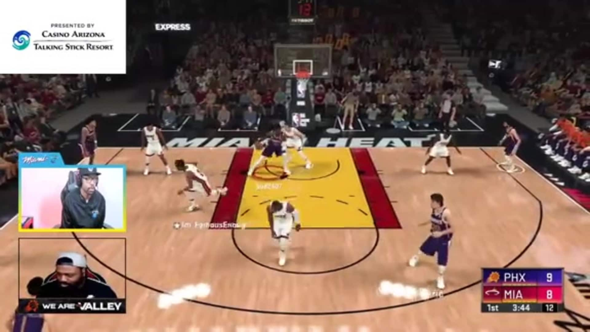 Bud Gets the And-One with Deandre Ayton on 2K20