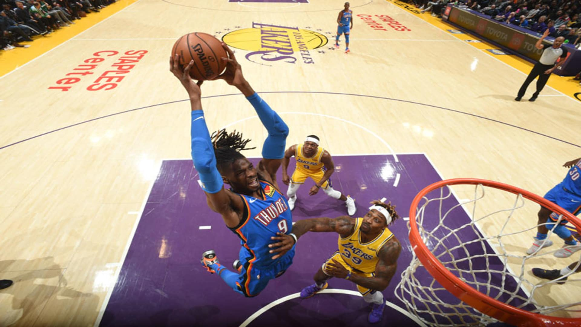 Highlights: Thunder at Lakers