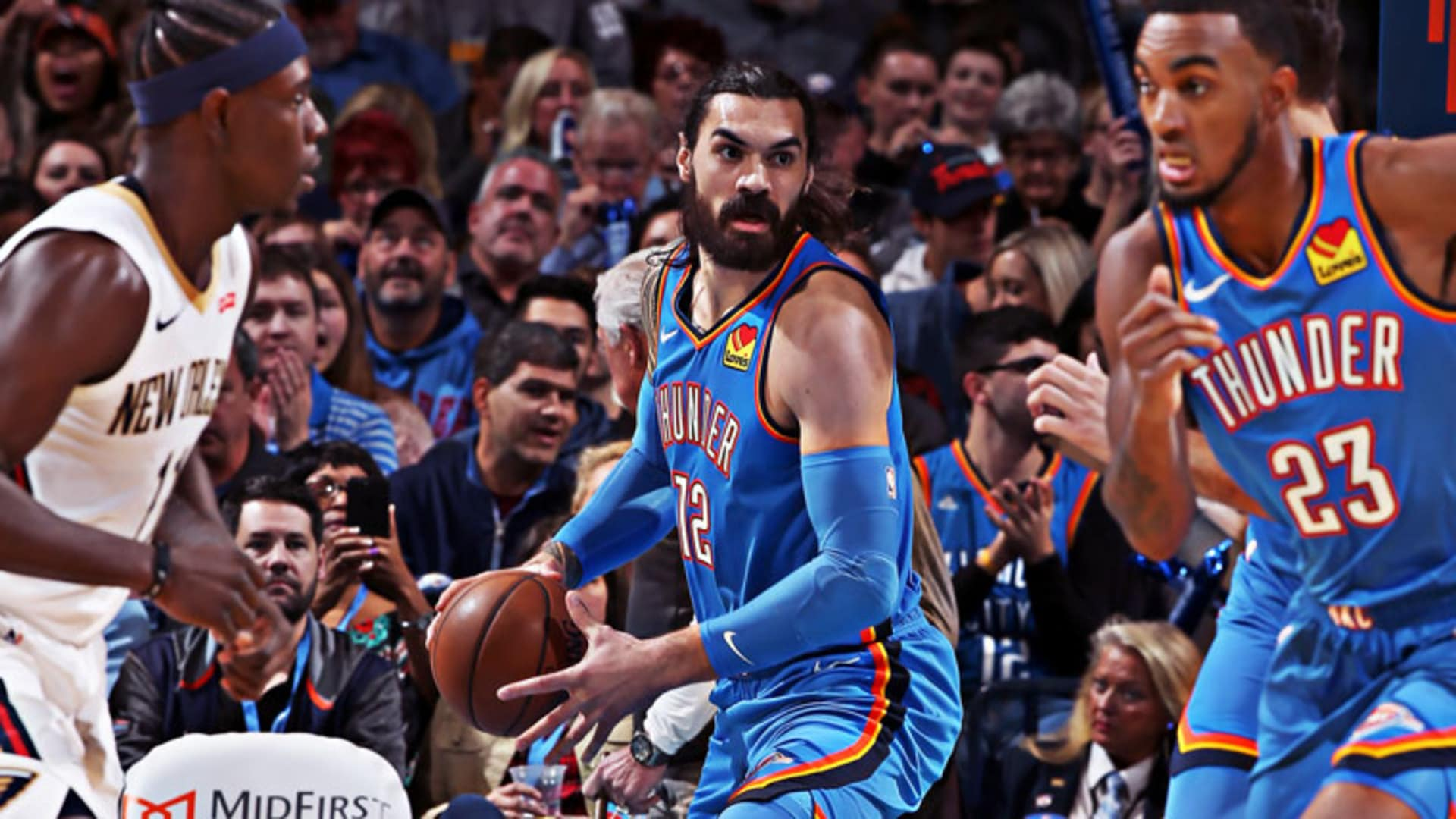 Highlights: Thunder 109, Pelicans 104