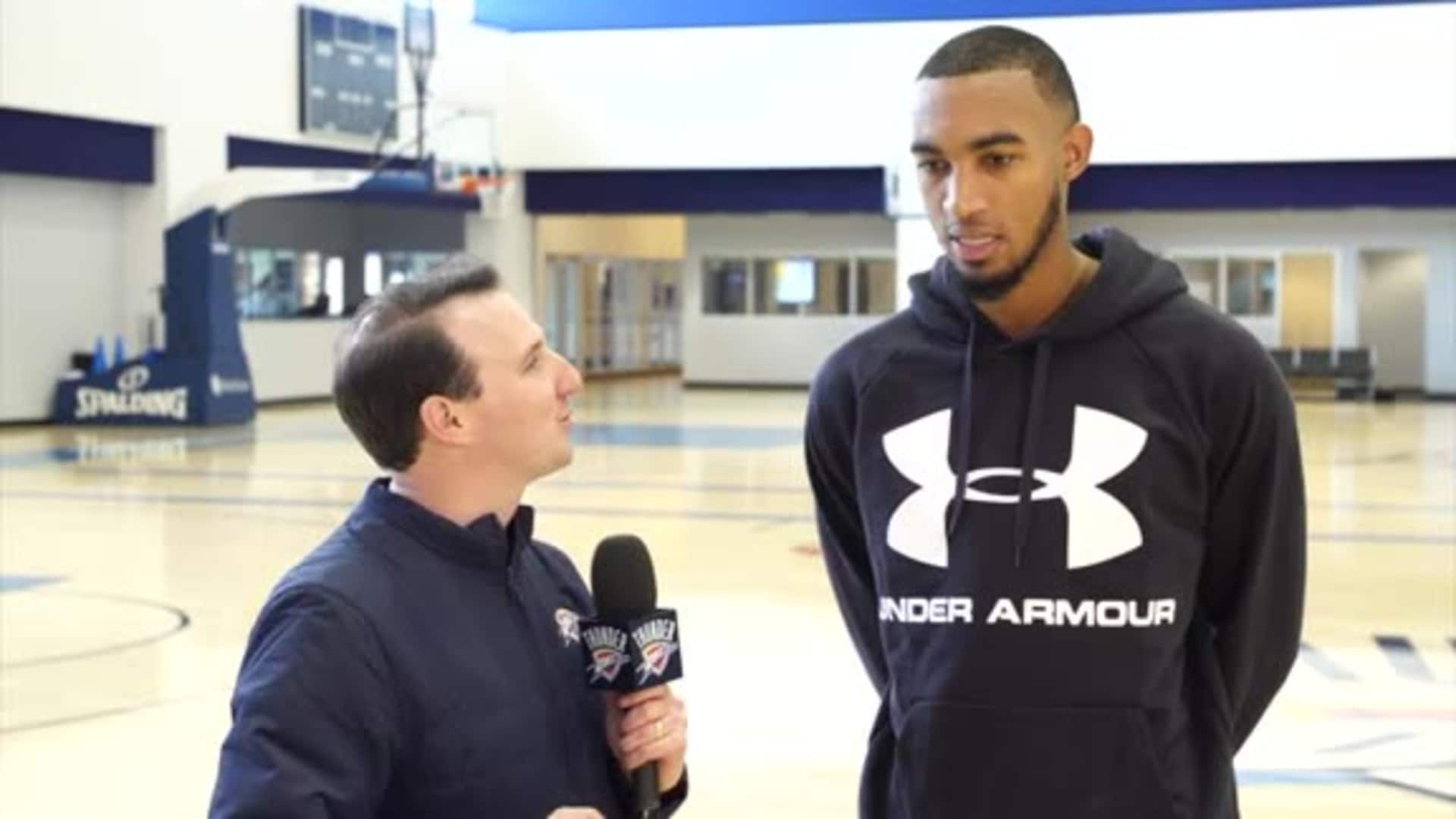 1-on-1: Terrance Ferguson - 12/4