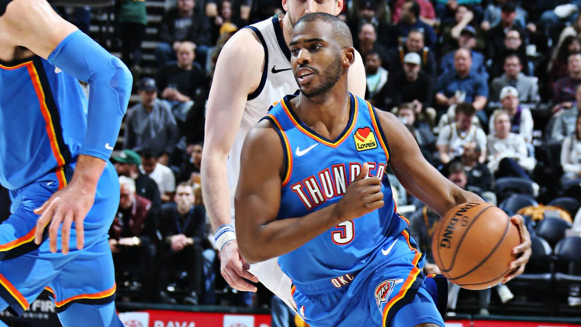 Highlights: Thunder 104, Jazz 90