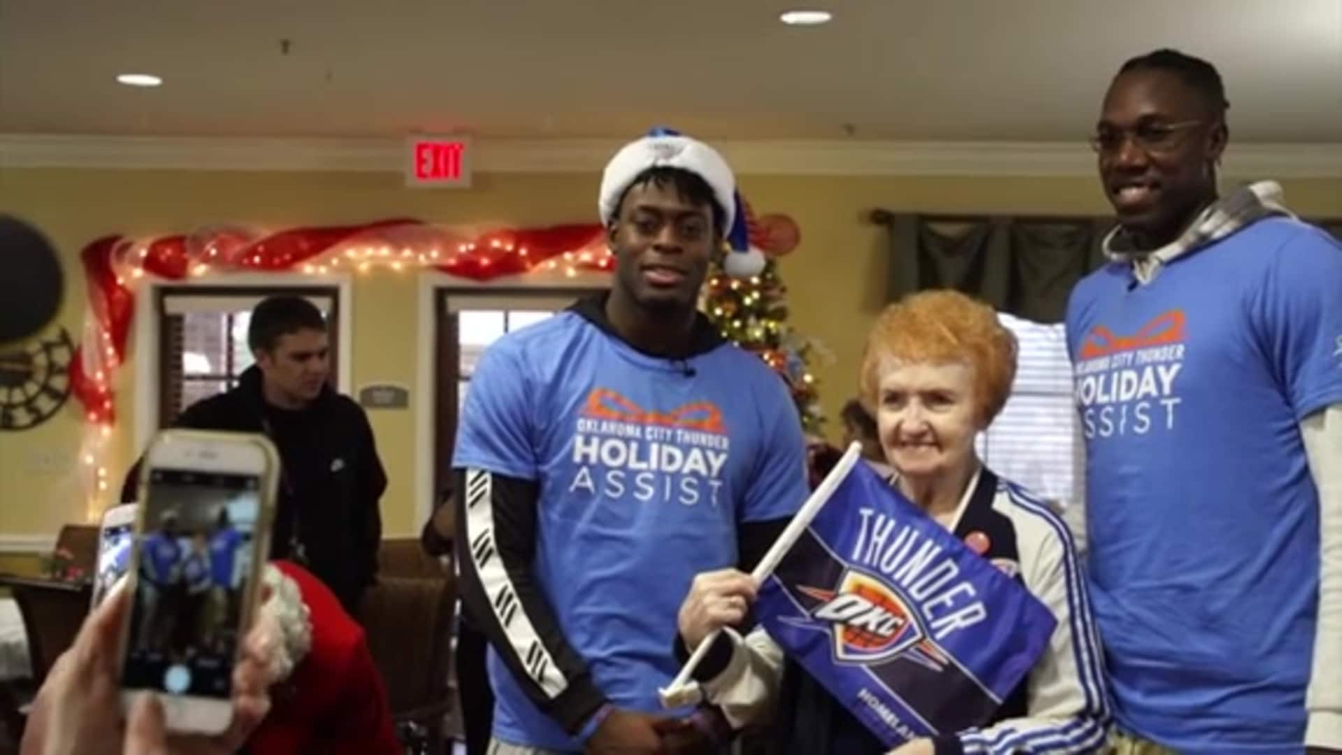Dort, Hervey Spread Holiday Cheer
