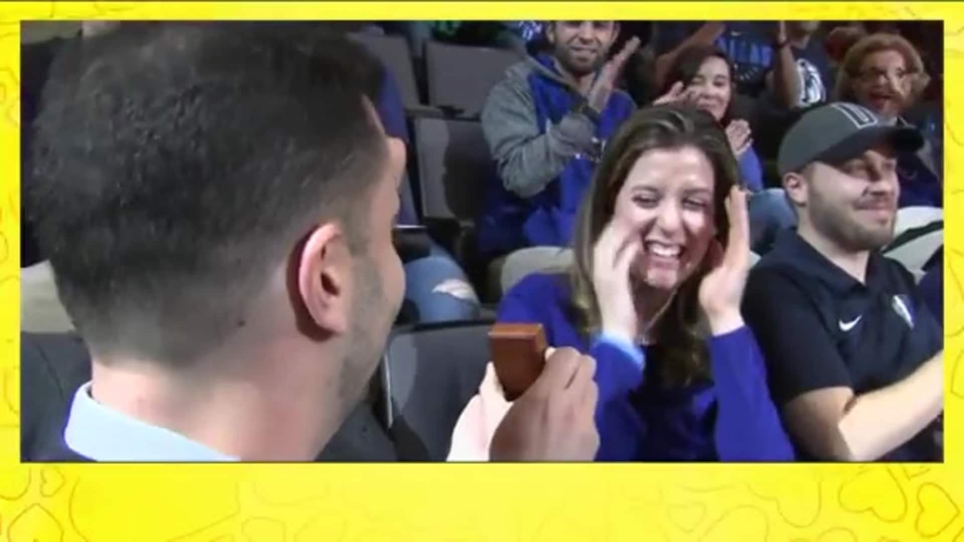 Love's Kiss Cam - New Year's Eve