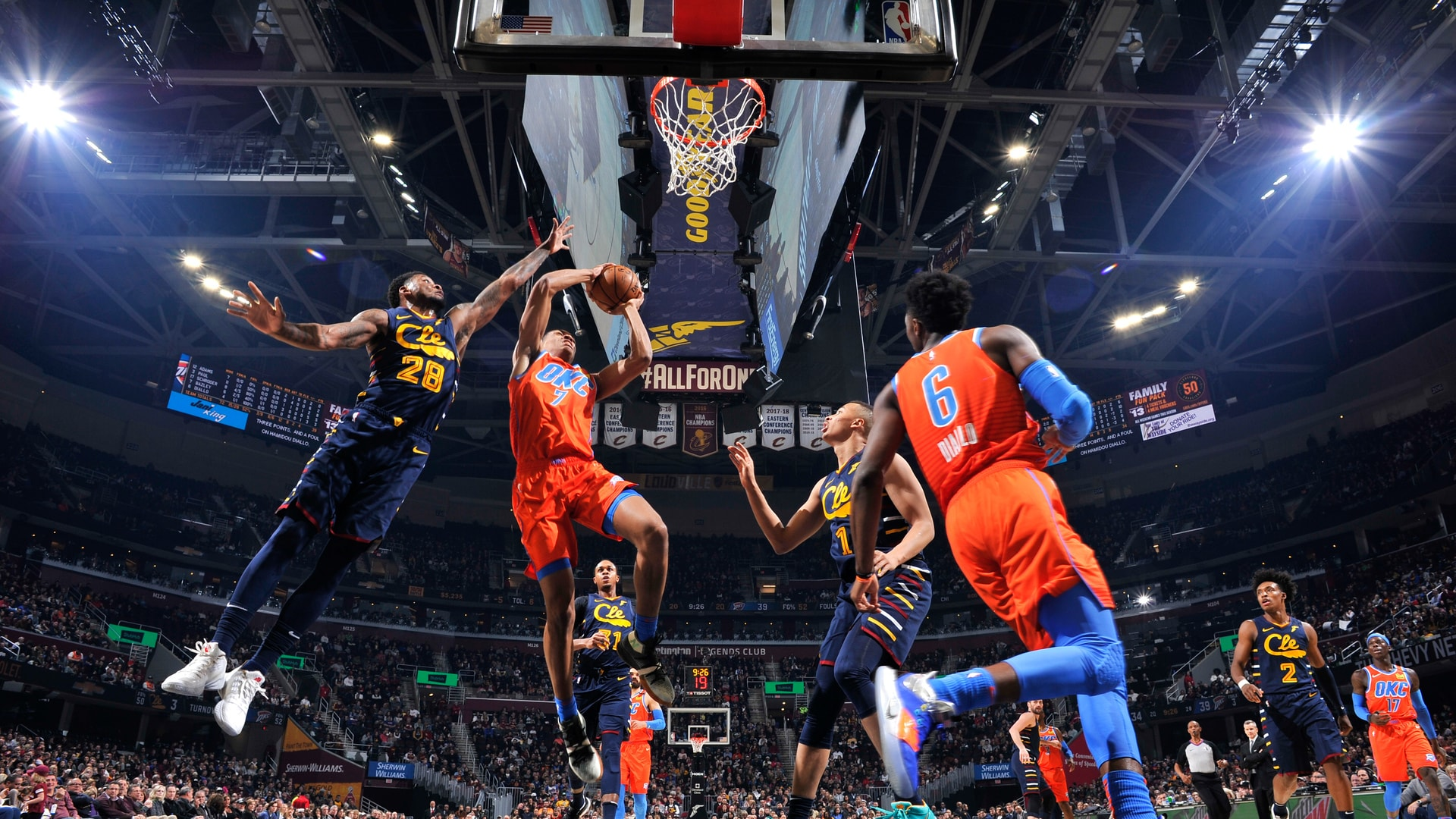 Highlights: Thunder at Cavaliers