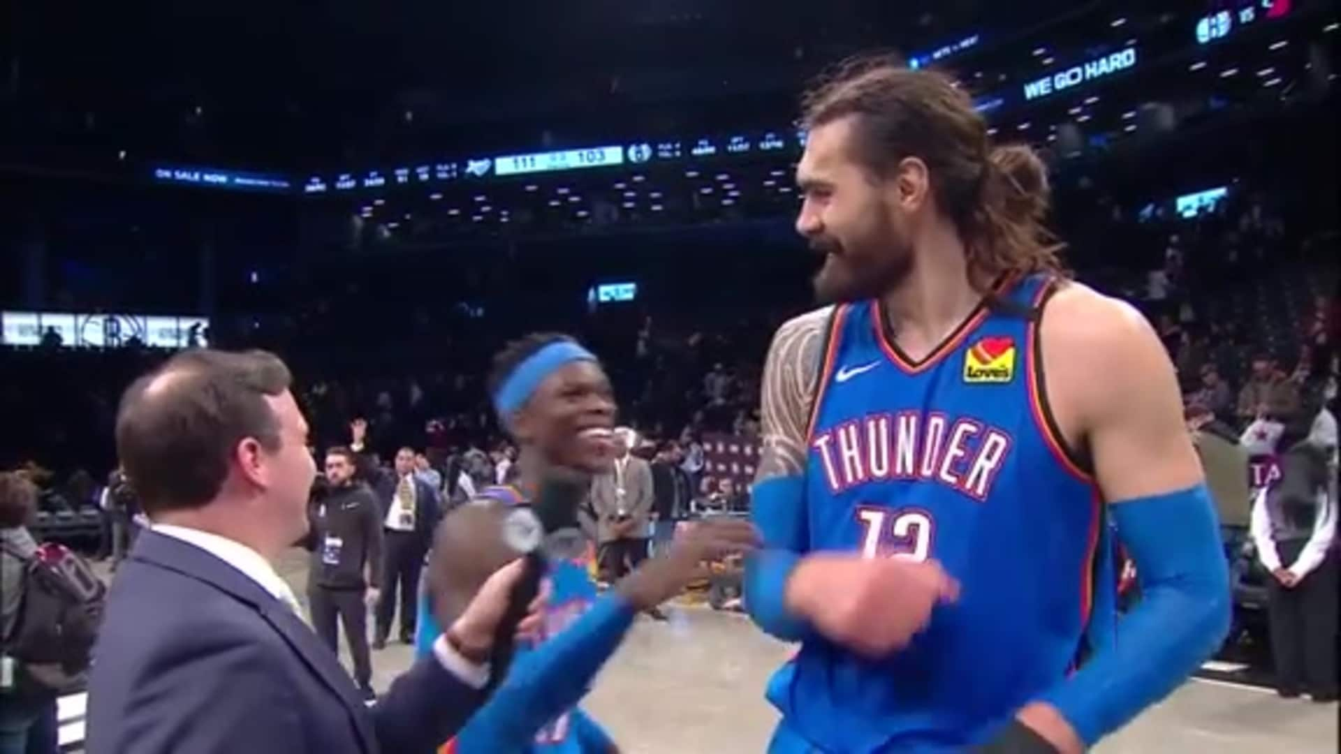 Walk-Off: Steven Adams