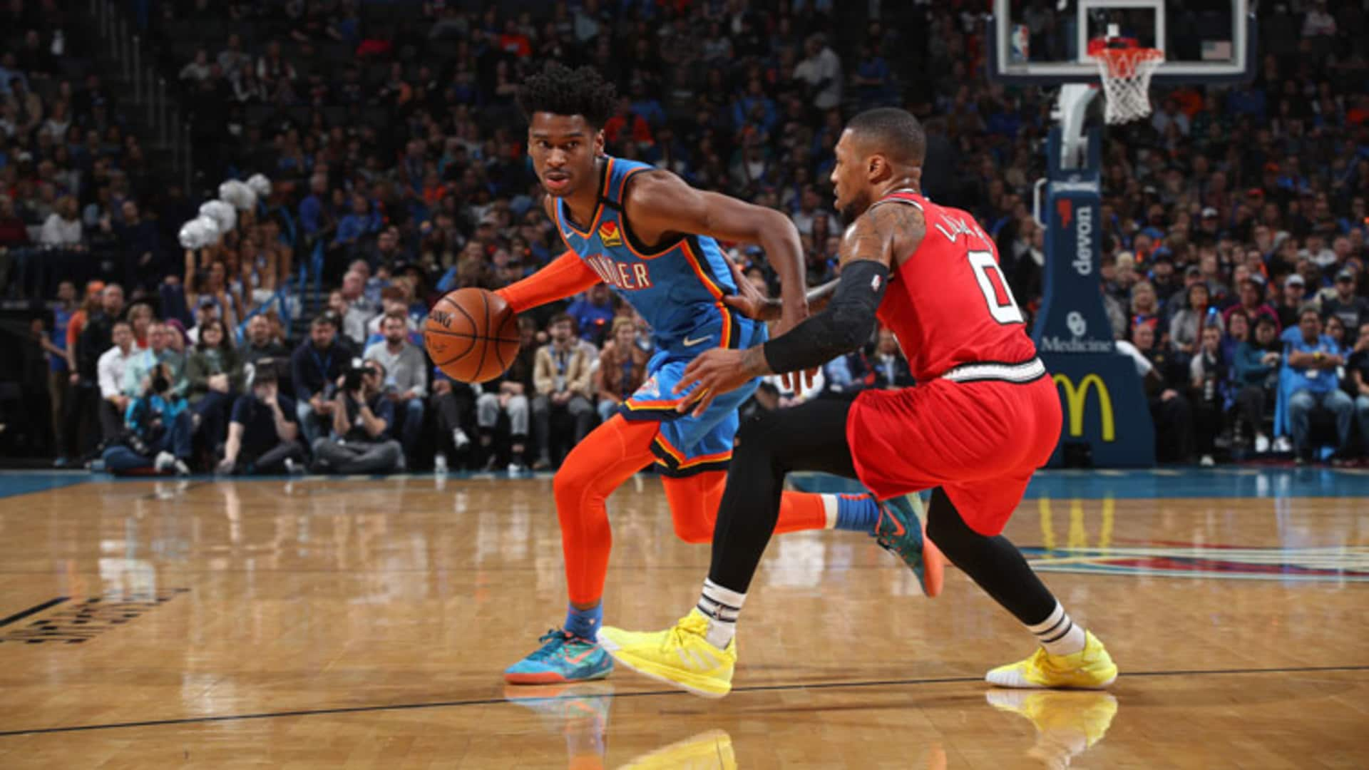 Highlights: Thunder 119, Trail Blazers 106