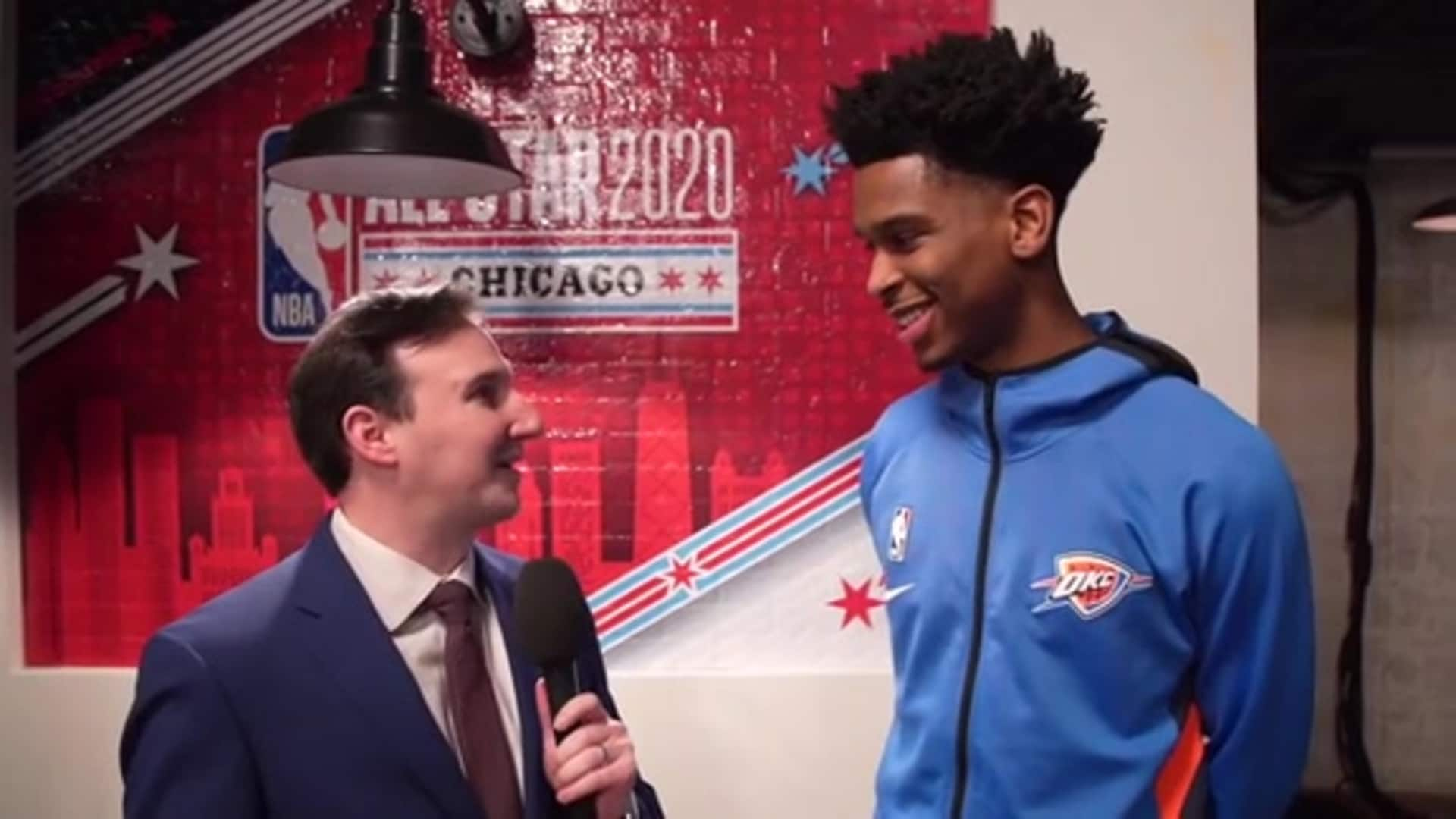 1-on-1: Shai Gilgeous-Alexander (All-Star Edition)