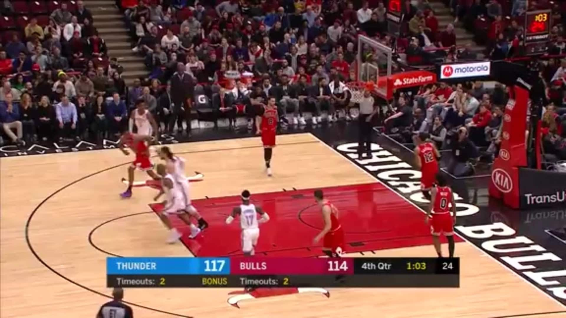 Highlights: Thunder at Bulls