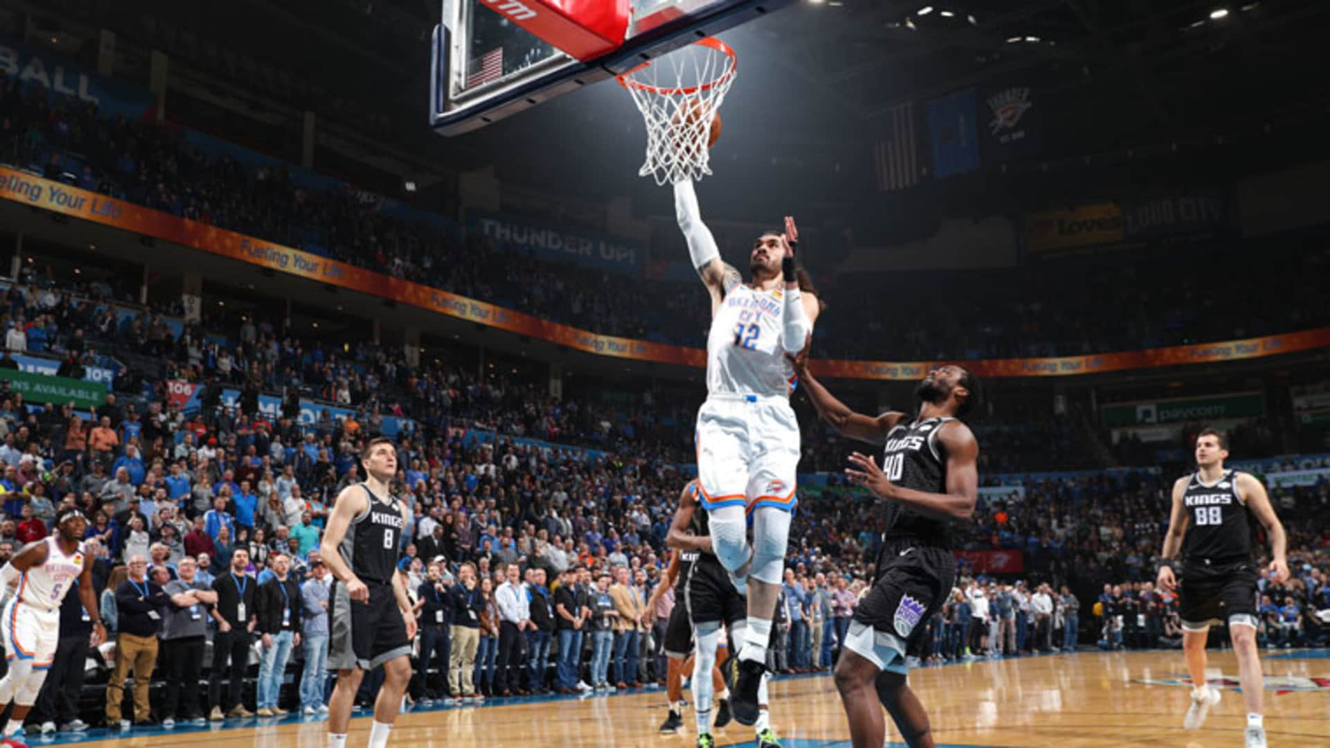 Highlights: Thunder 112, Kings 108