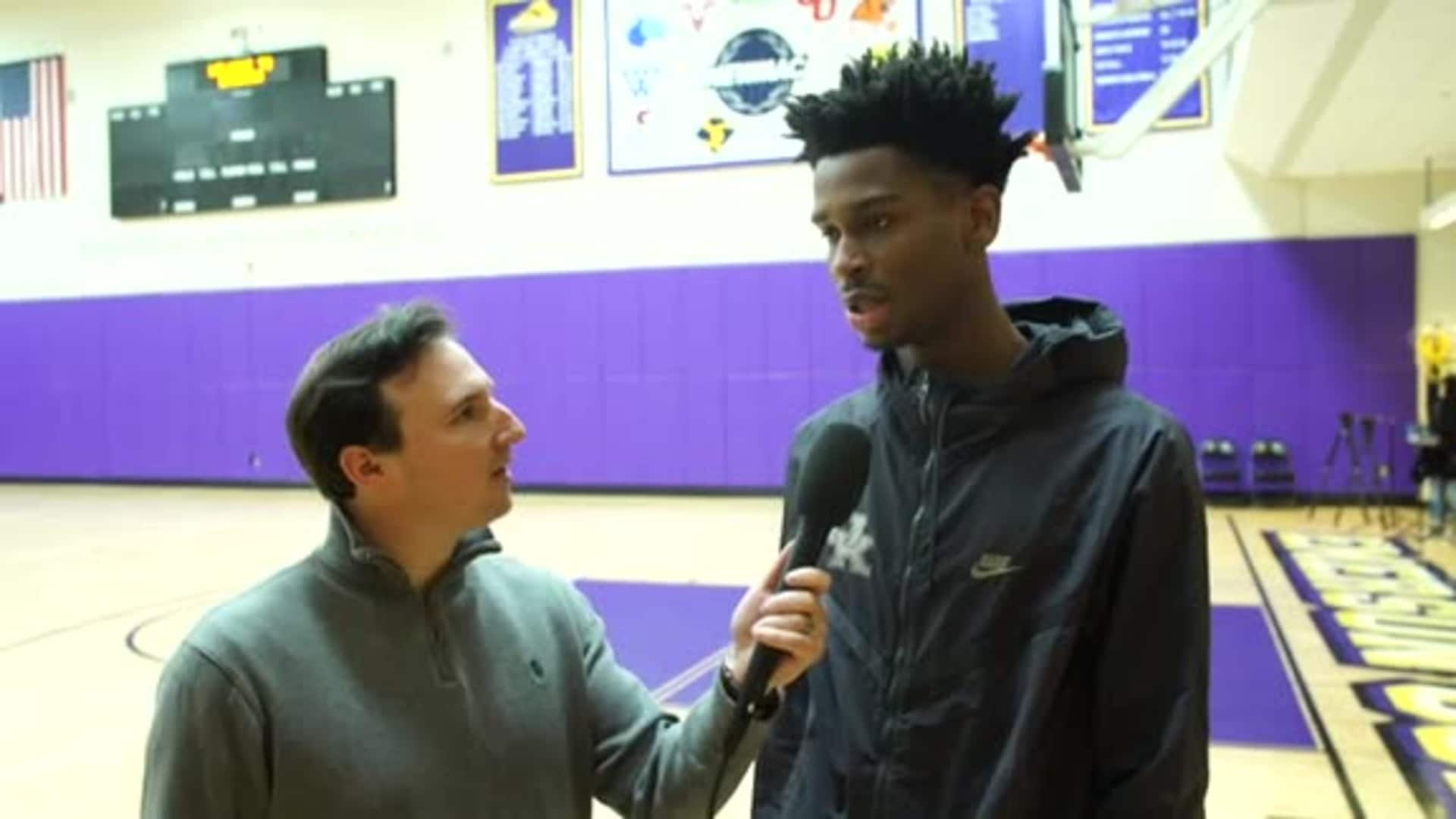 1-on-1: Shai Gilgeous-Alexander