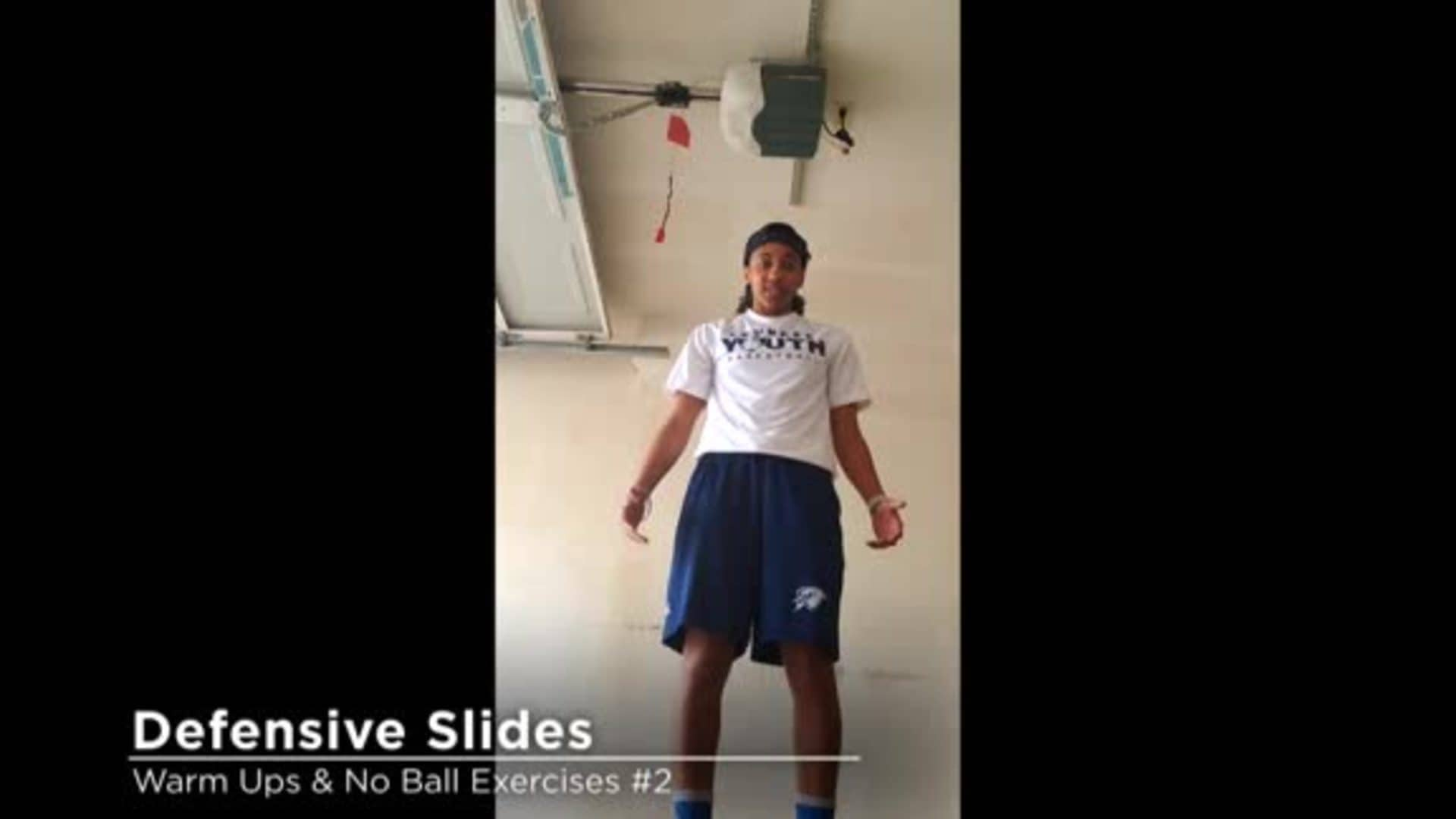 Skills Challenge: Defensive Slides