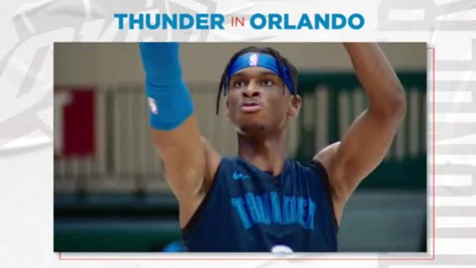 Thunder Talk - Shai's Upside
