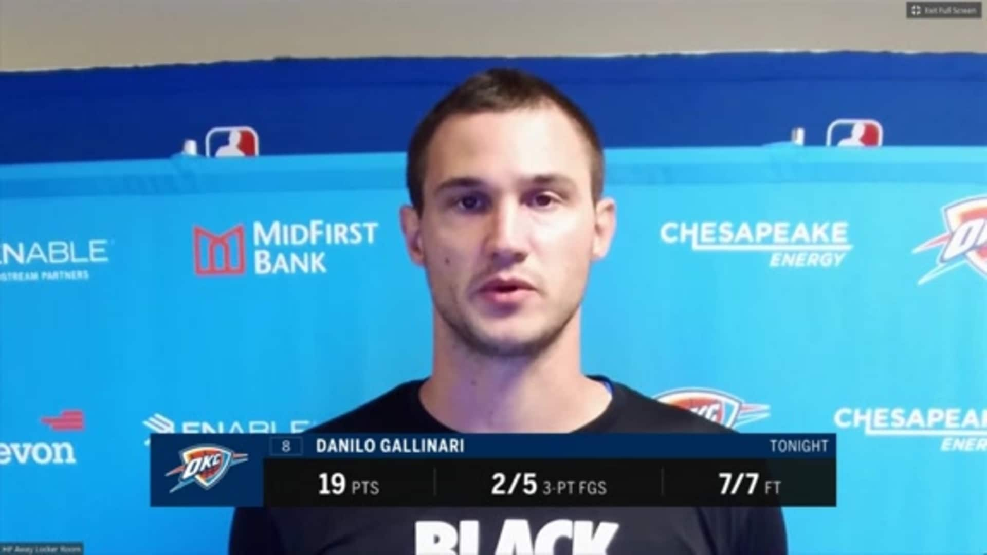 Walk-Off: Danilo Gallinari - 8/5