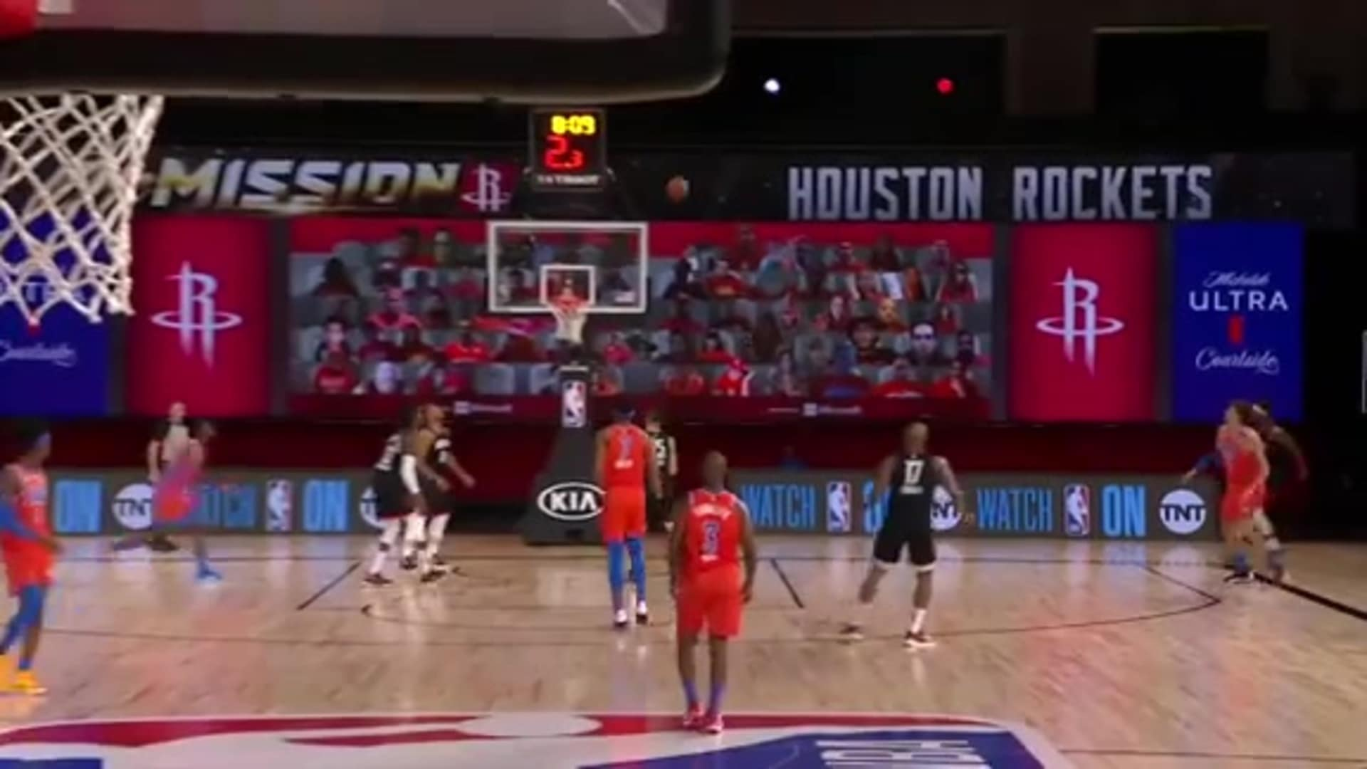 Highlights: Thunder 108, Rockets 123