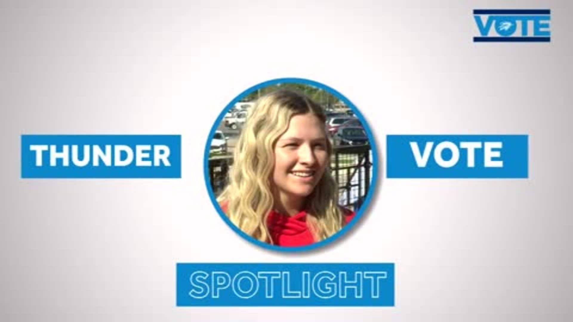 Thunder VOTE Spotlight: 'Make A Difference'