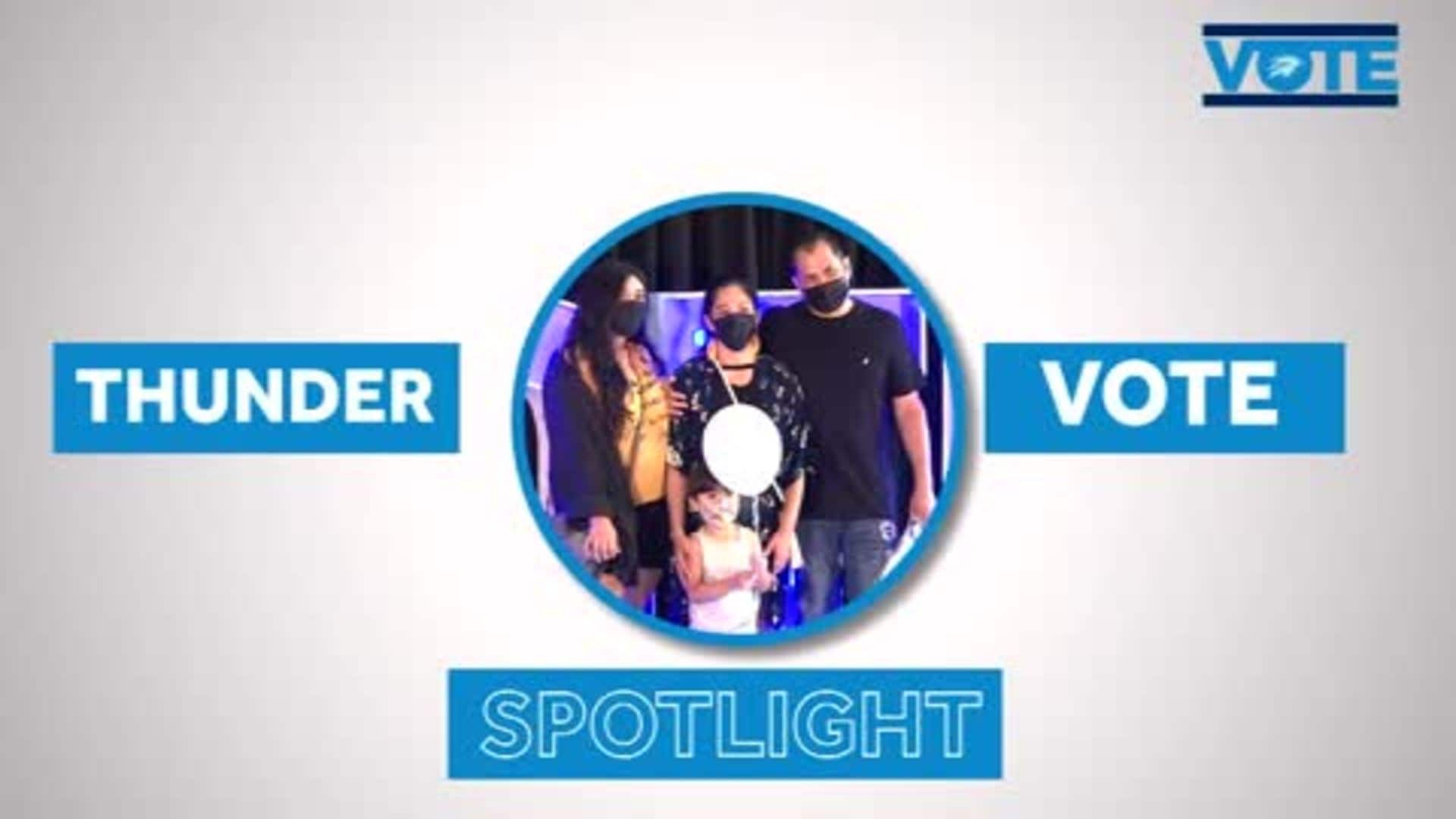 Thunder VOTE Spotlight: 'Speak Up'