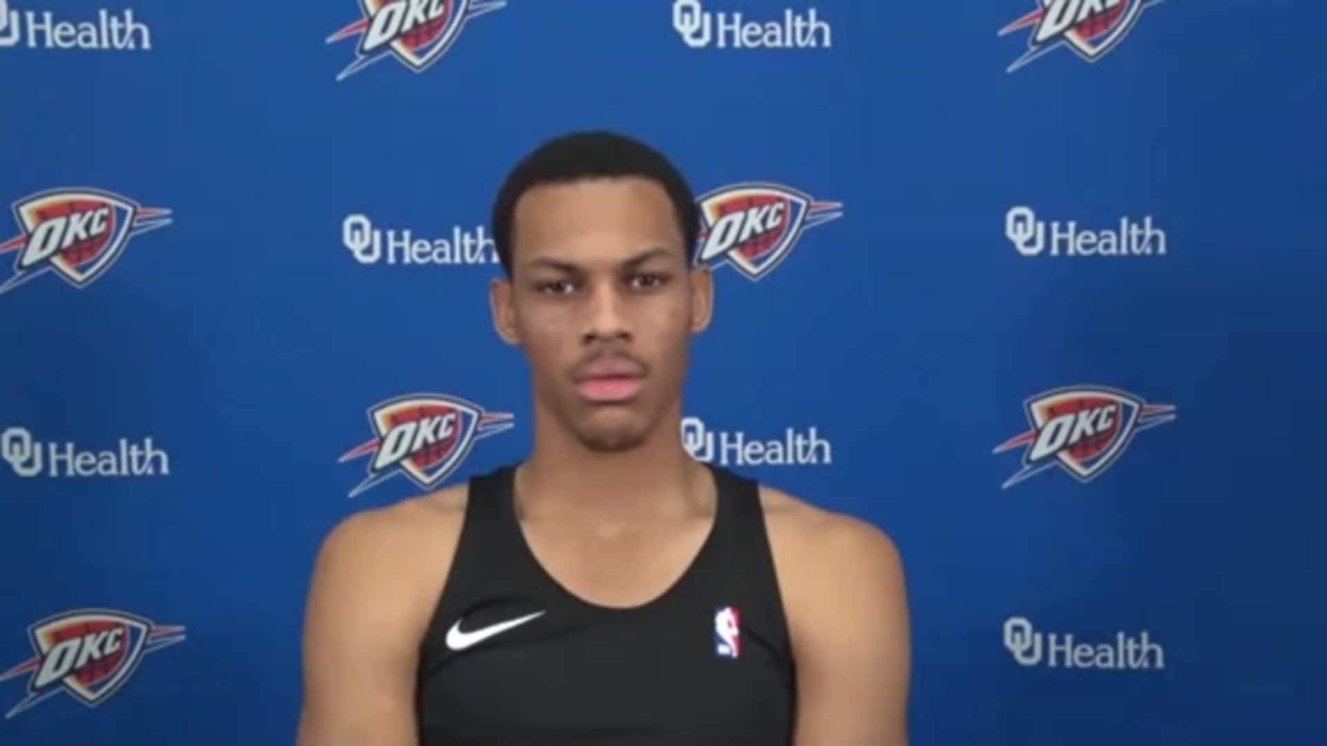 Darius Bazley - Media Availability 12.1.20