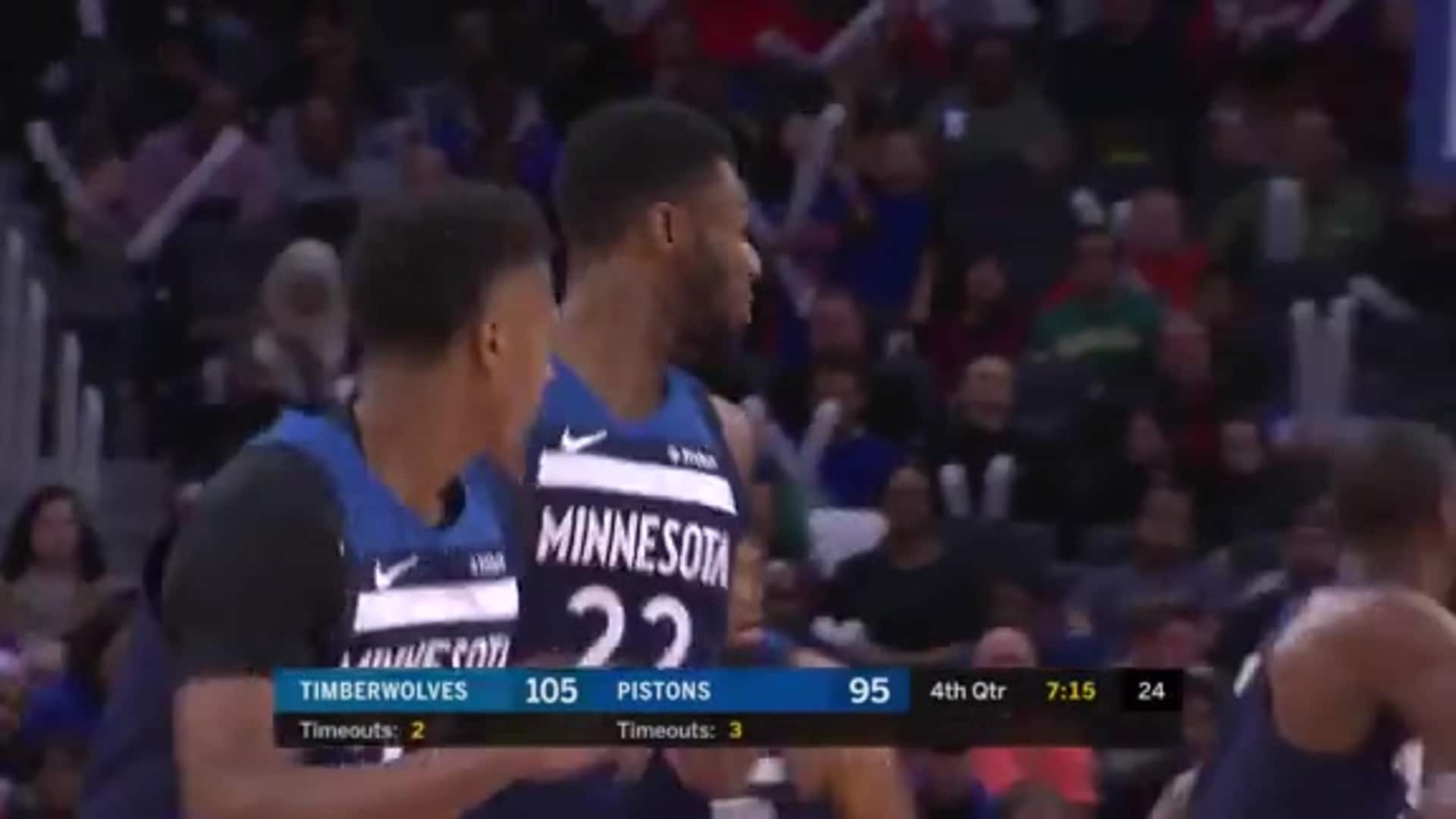 Highlights | Andrew Wiggins With 33 Points, 6 Rebounds & 5 Assists vs. Pistons (11.11.19)