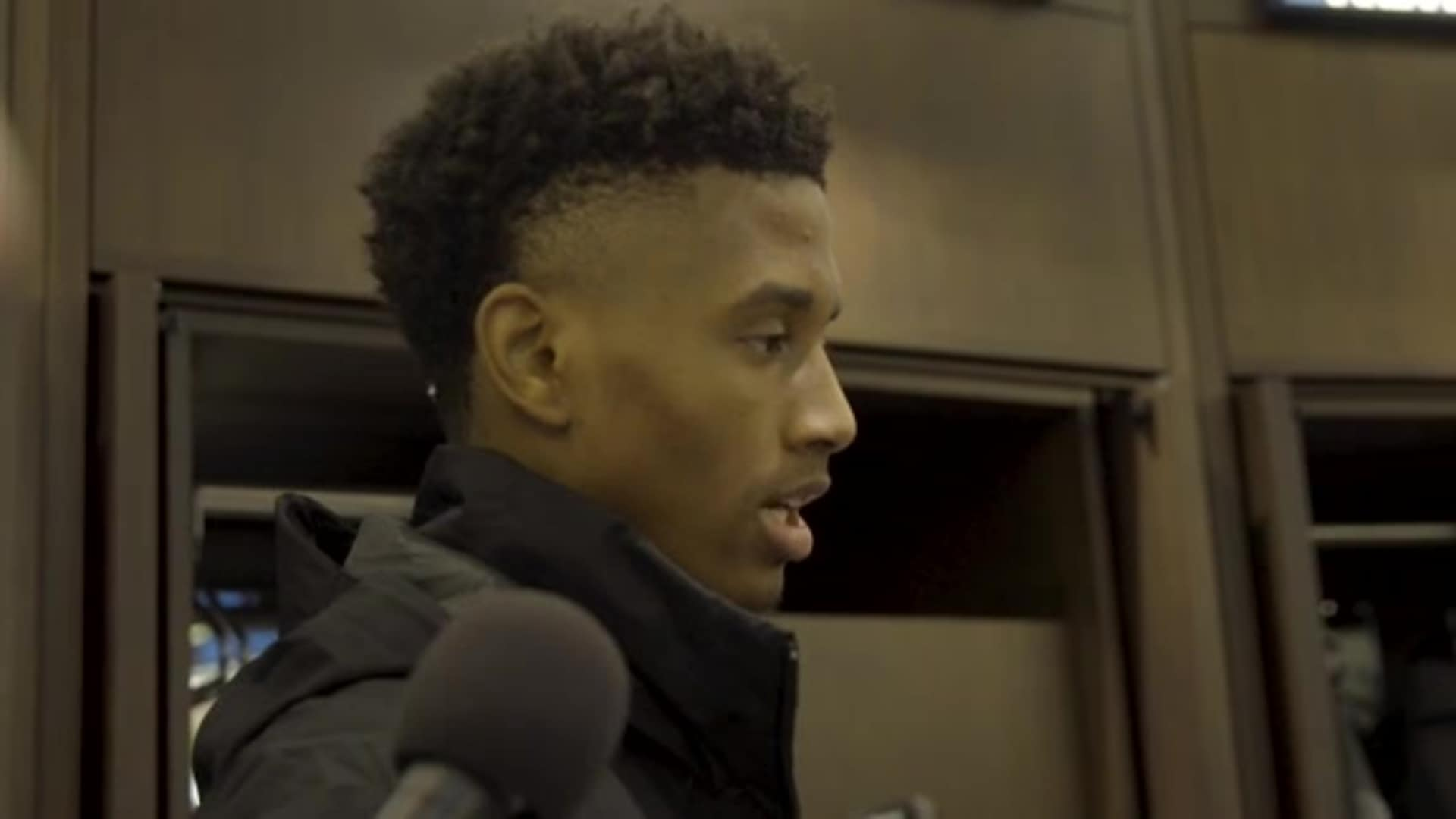 Timberwolves Rookie Jarrett Culver After Win Over Spurs (11.13.19)