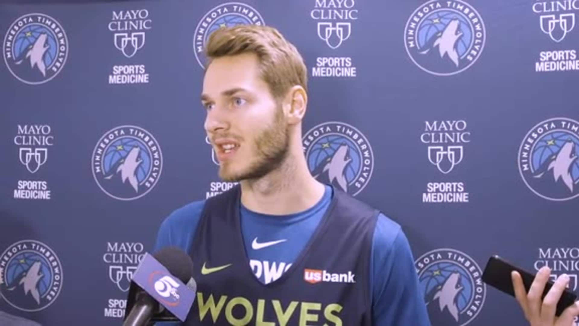 Jake Layman On What's Working Well For Timberwolves (11.14.19)