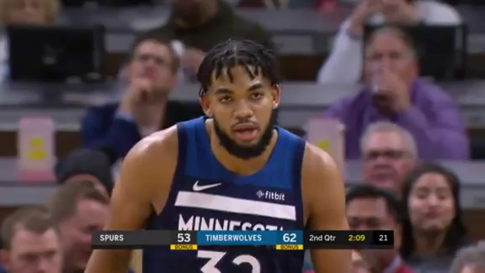Highlights   Karl-Anthony Towns 28 Points, 11 Rebounds, 4 Assists vs. Spurs (11.13.19)