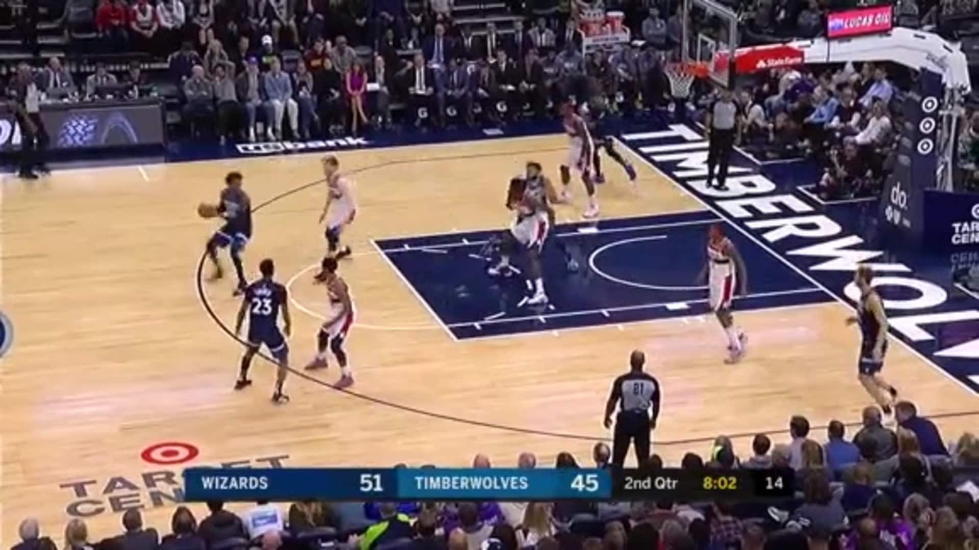 Highlights | Karl-Anthony Towns 36 Points And 10 Rebounds vs. Wizards (11.15.19)