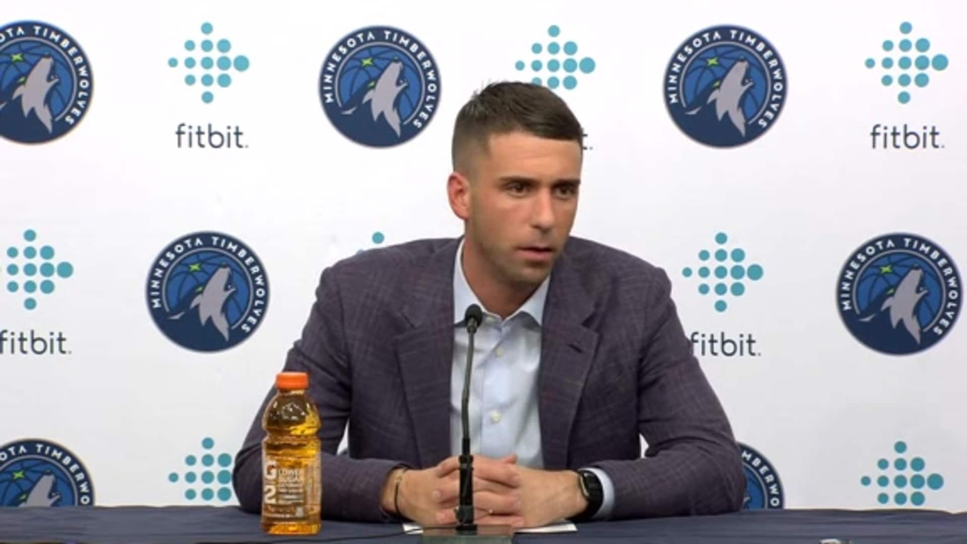 Timberwolves Coach Ryan Saunders After Loss To Wizards (11.15.19)