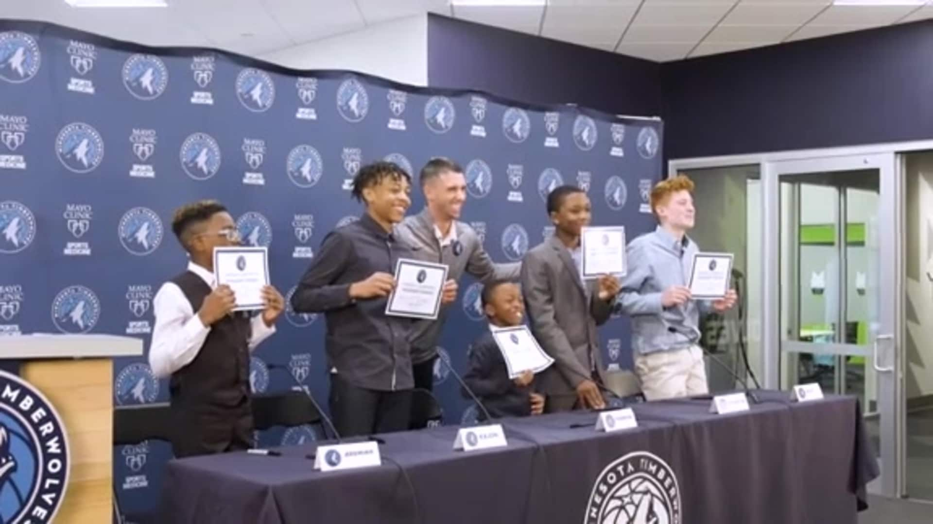 Timberwolves Jr. Pack Brings Benefits For All