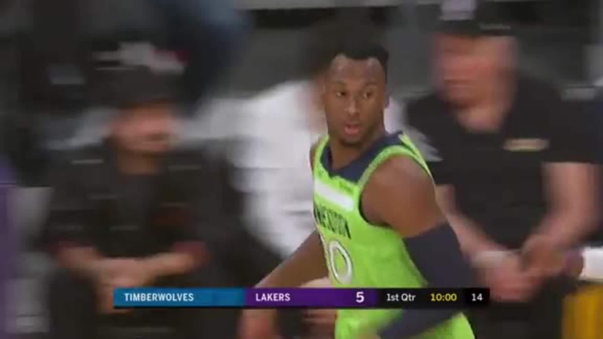 Highlights | Josh Okogie 18 points, 4 rebounds at Los Angeles (12.8.19)