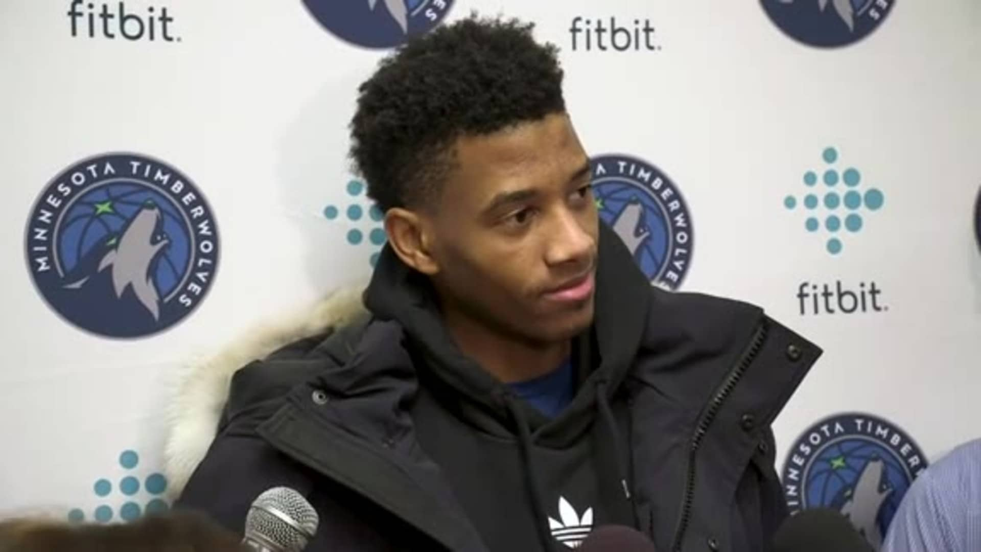 Timberwolves Guard Jarrett Culver On Brother's 100-Point Game (12.11.19)