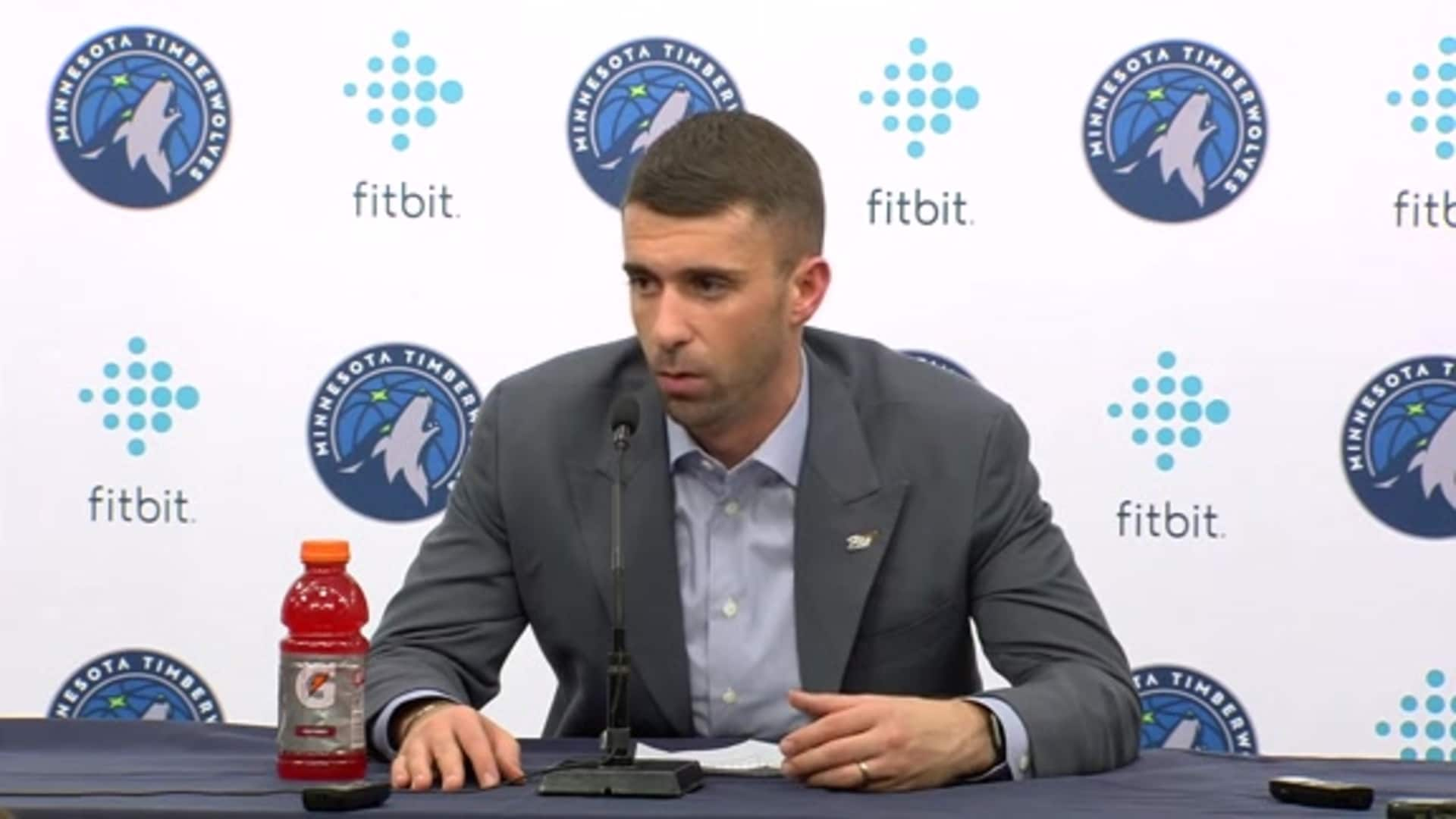 Timberwolves Coach Ryan Saunders After Loss To Clippers (12.13.19)