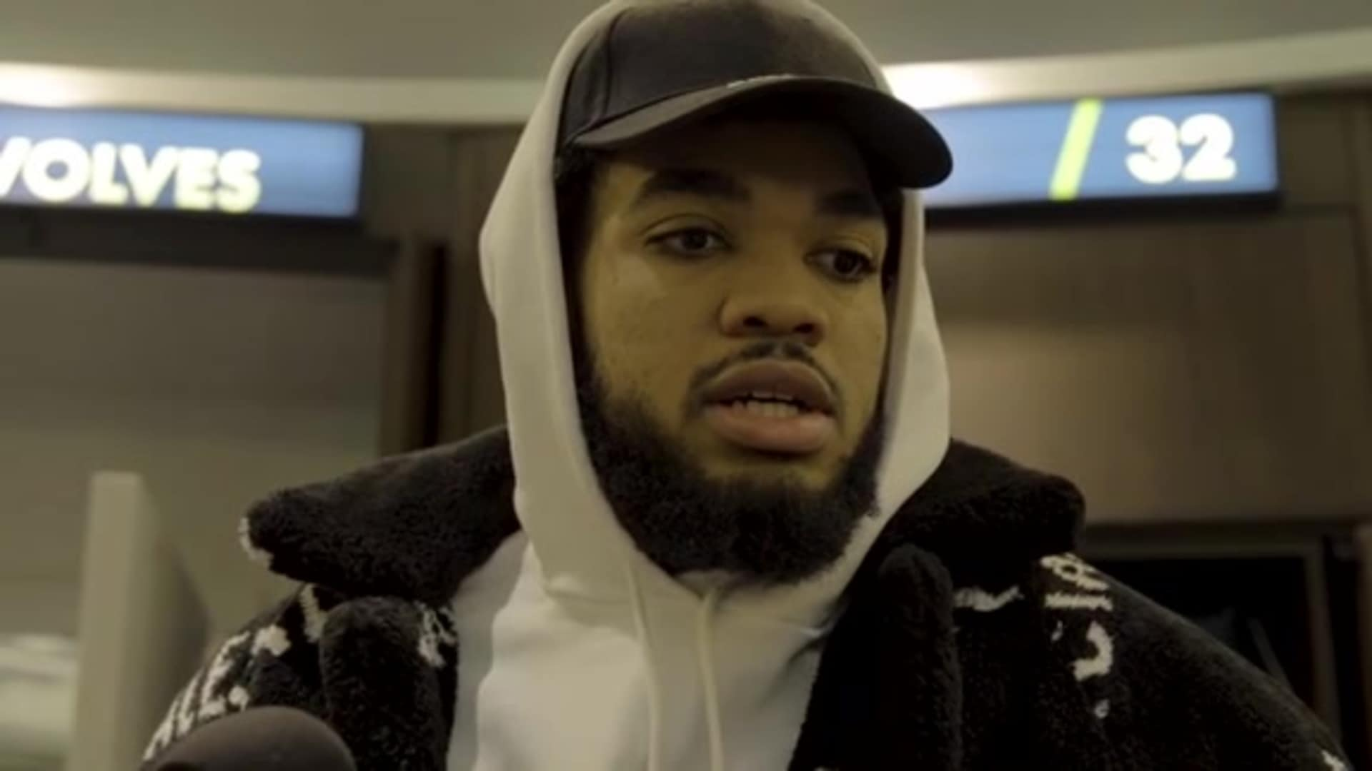Timberwolves Center Karl-Anthony Towns After Loss To Clippers (12.13.19)