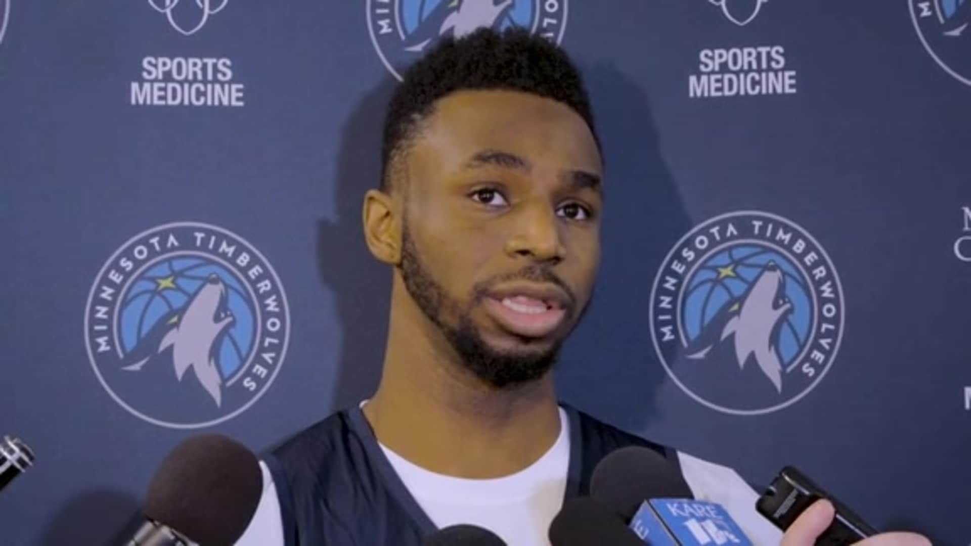 Timberwolves Guard Andrew Wiggins On Coach Vanterpool's Impact On His Defense (12.16.19)