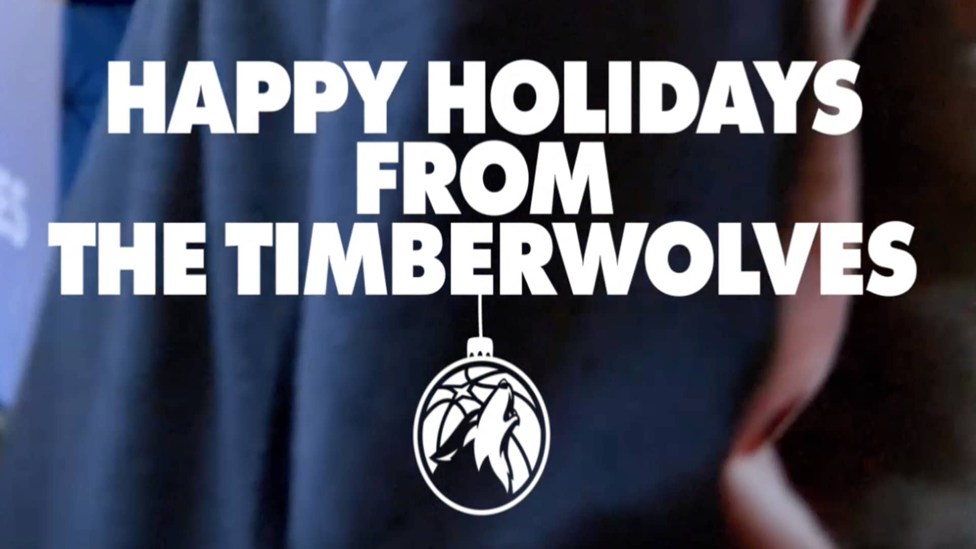 Happy Holidays From The Minnesota Timberwolves